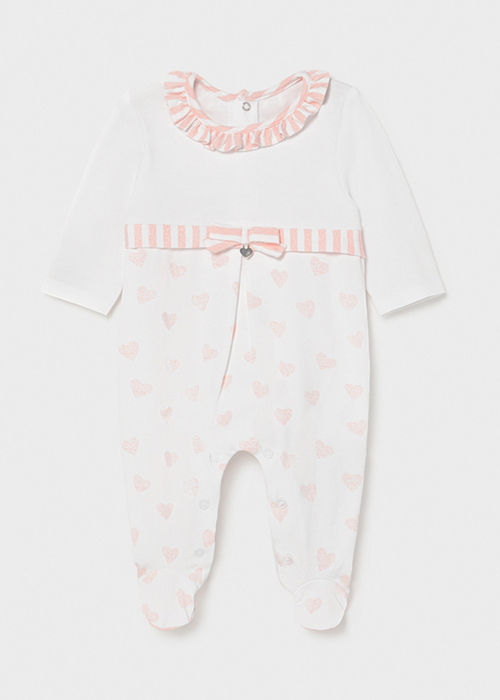 Mayoral Mayoral mixed long onesie candy