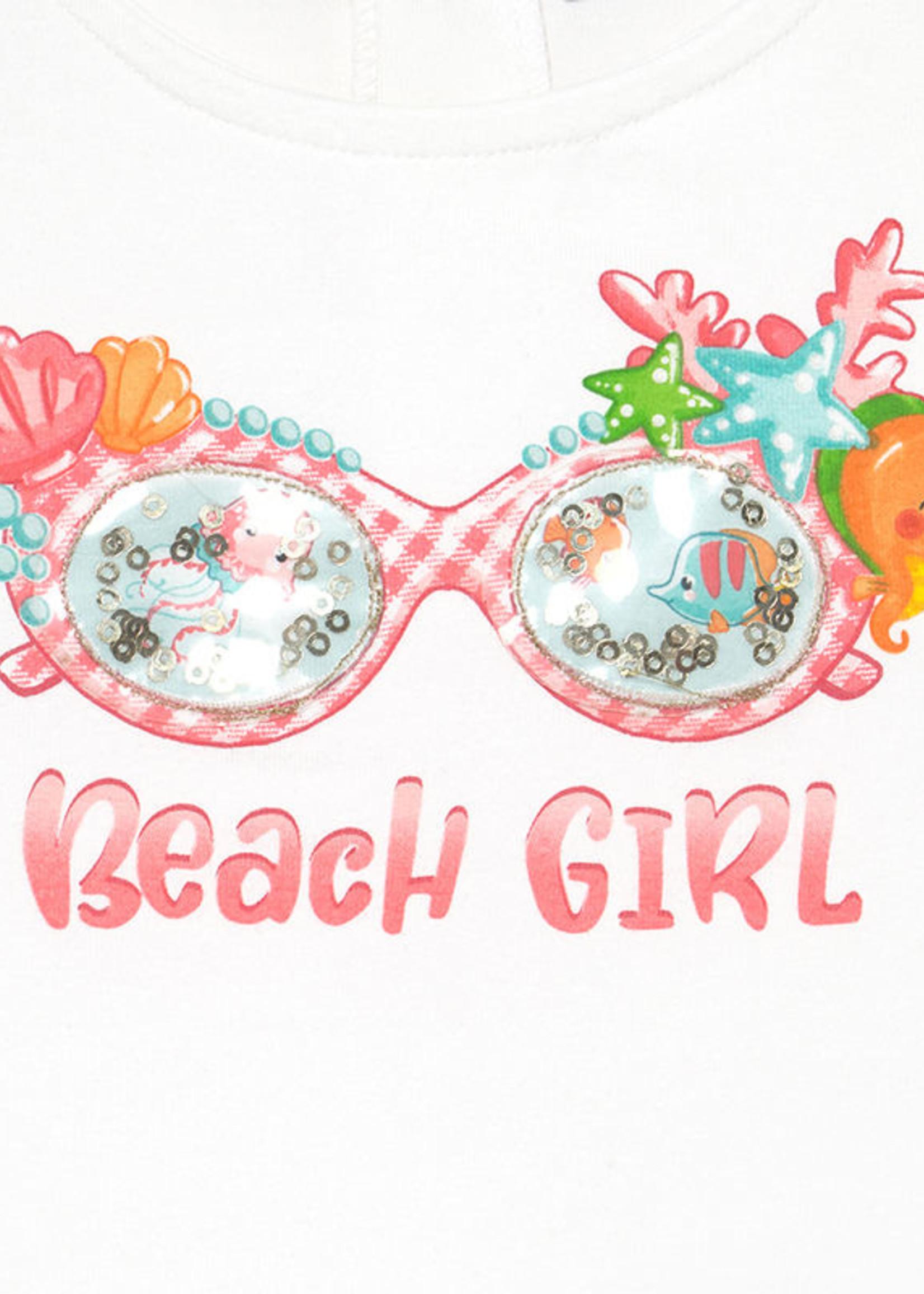 Mayoral Mayoral beach girl set pink