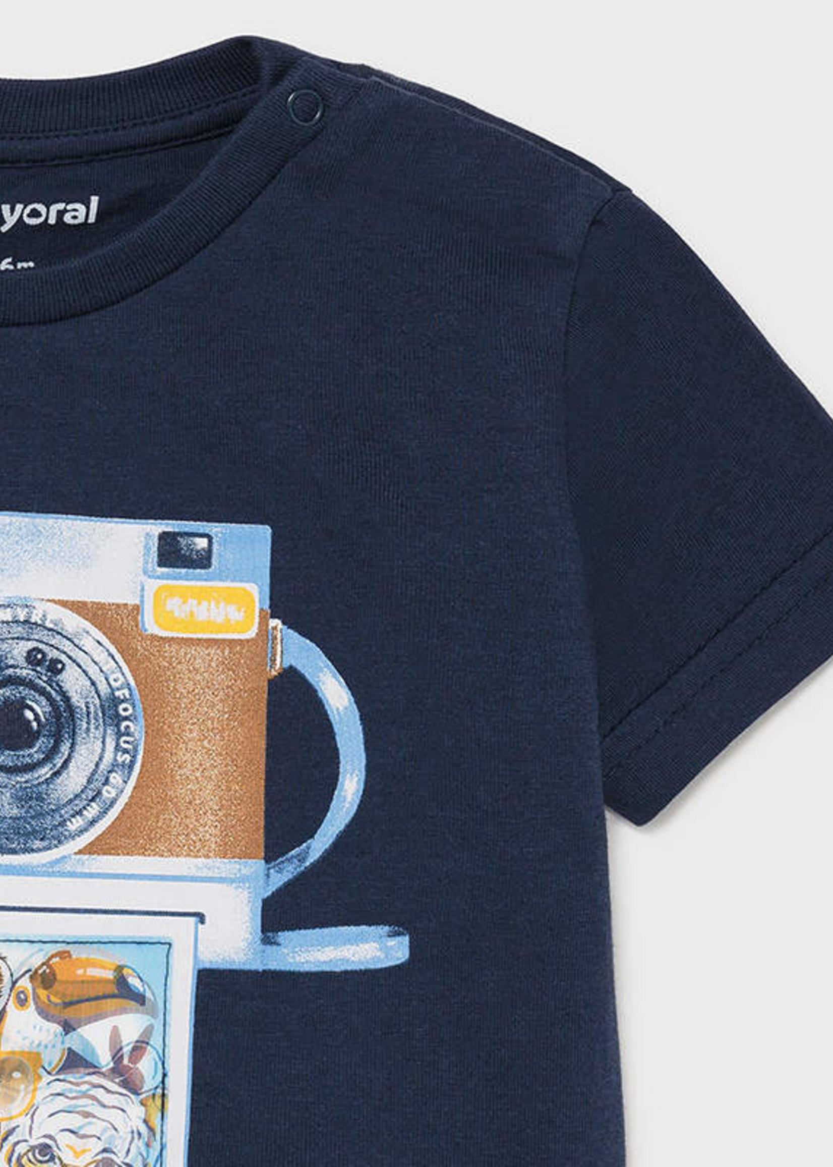 Mayoral Mayoral shirt with lens print