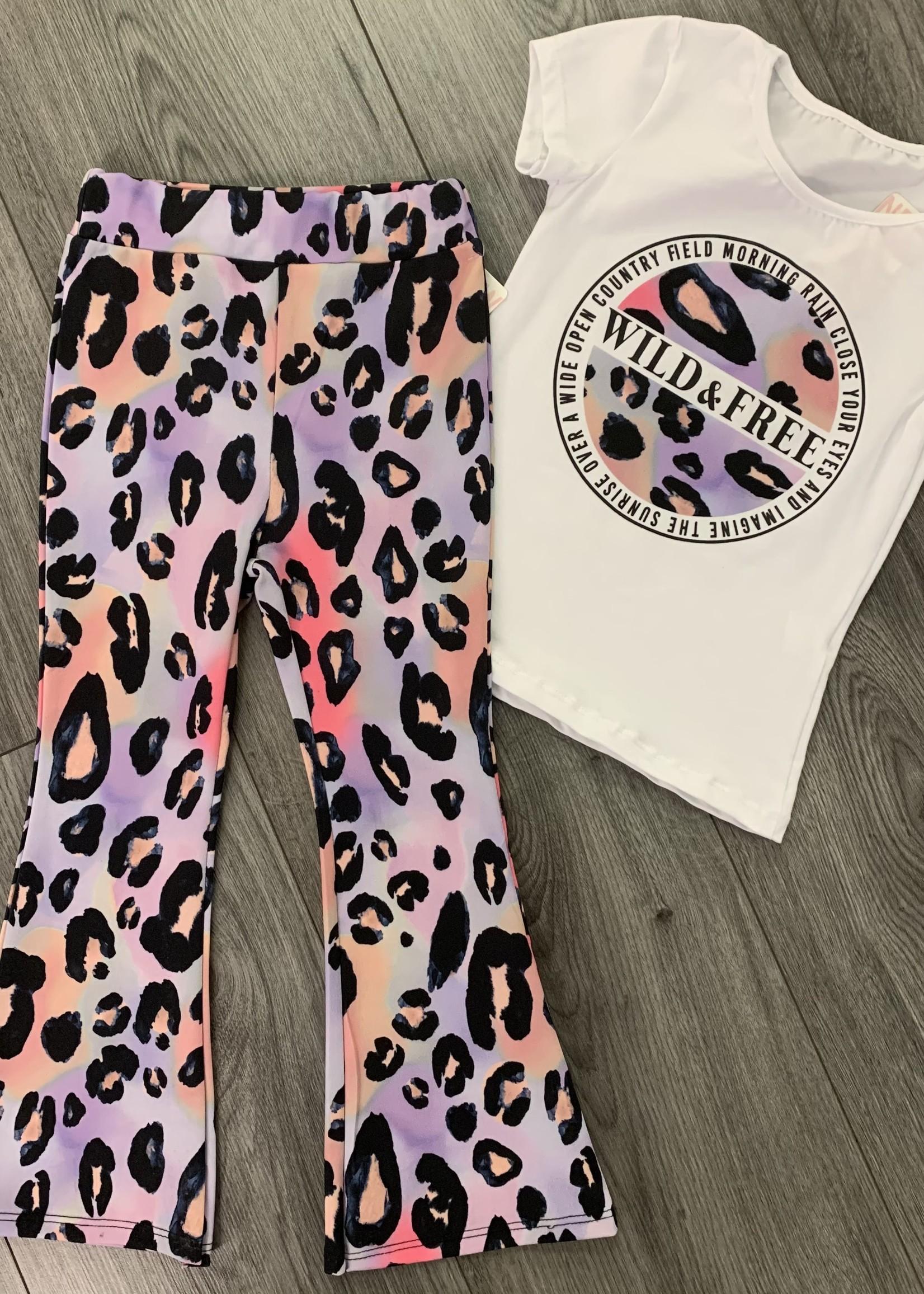 Divanis Divanis wild & free flared pants set