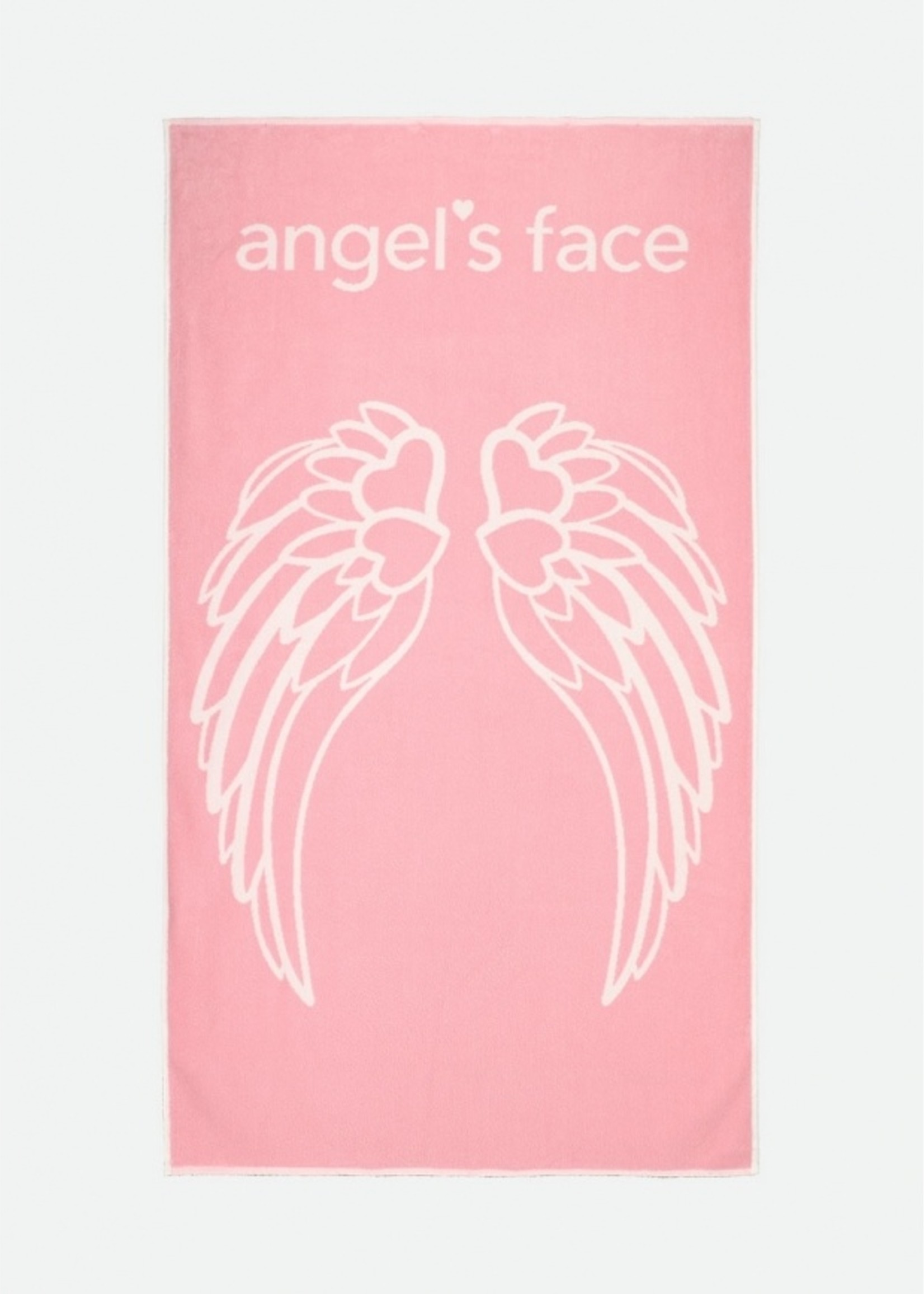 Angels Face Angels Face beach towel pink