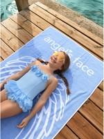 Angels Face Angels Face beach towel blue