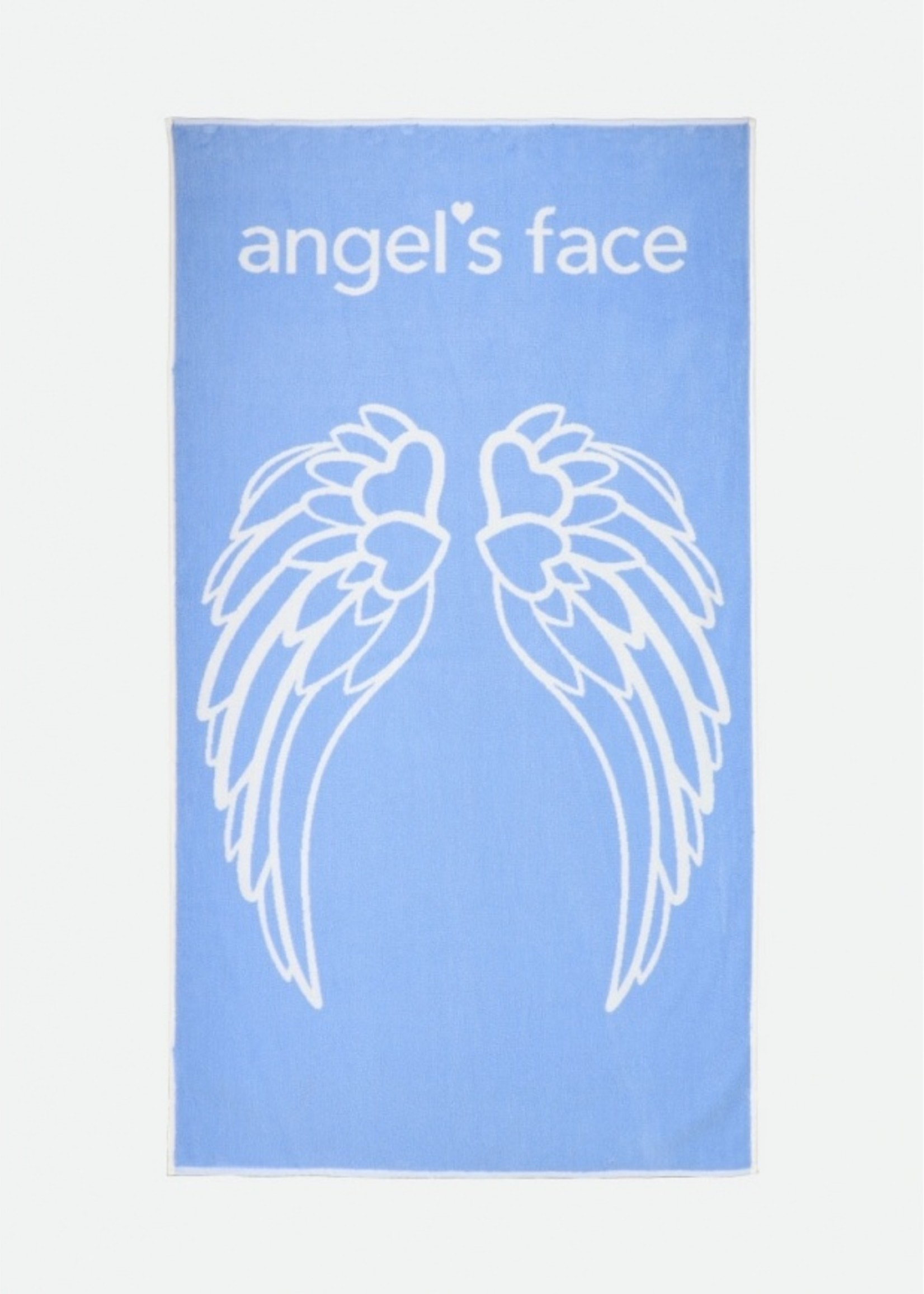 Angels Face Angels Face beach towel blue