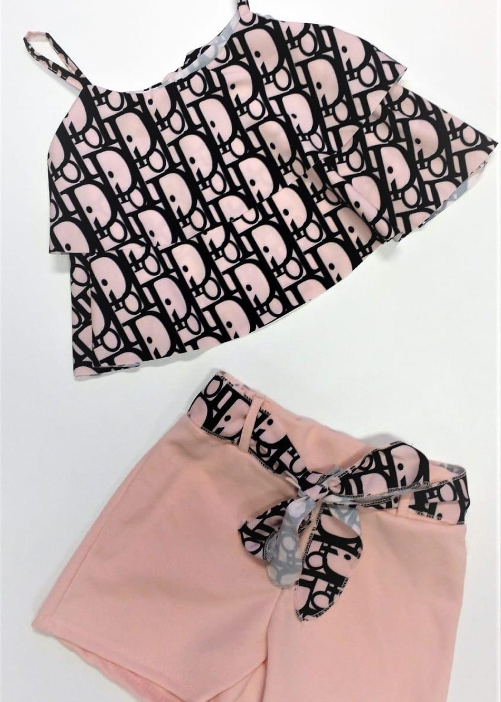 Divanis Divanis look a like D set pink