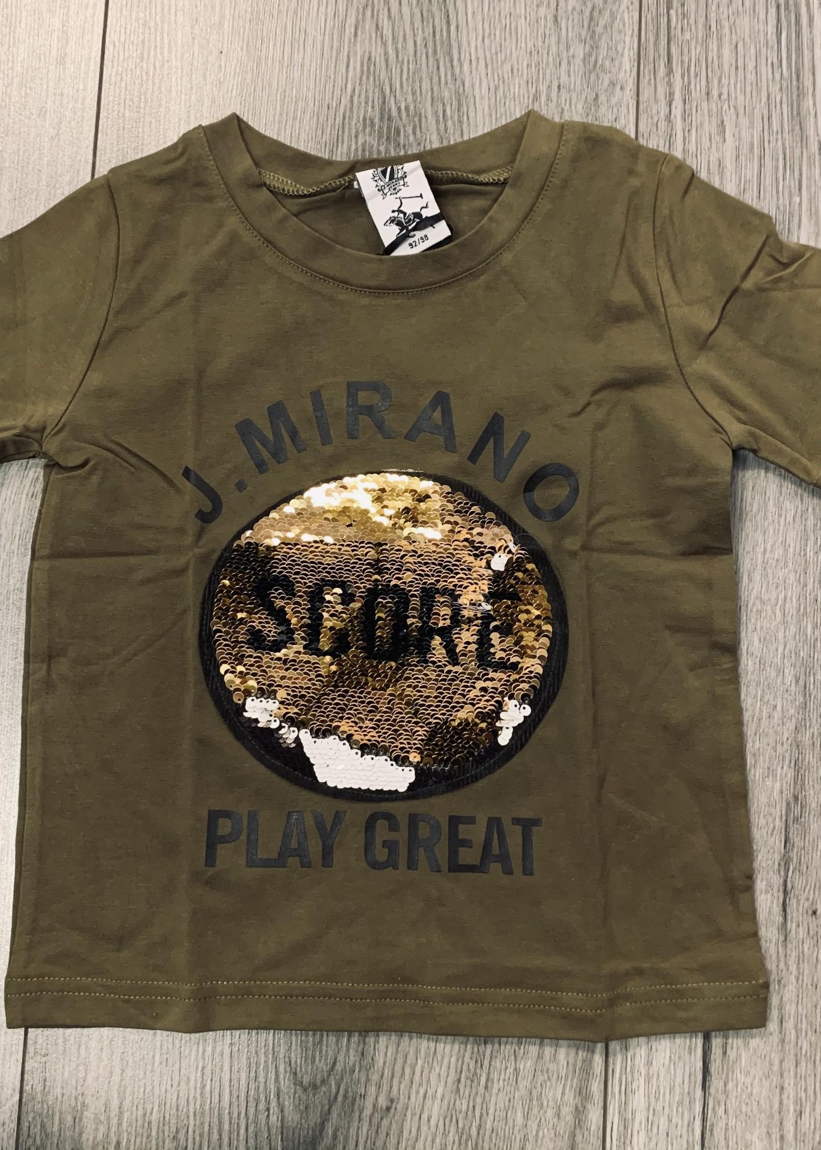 Divanis Divanis score shirt armygreen