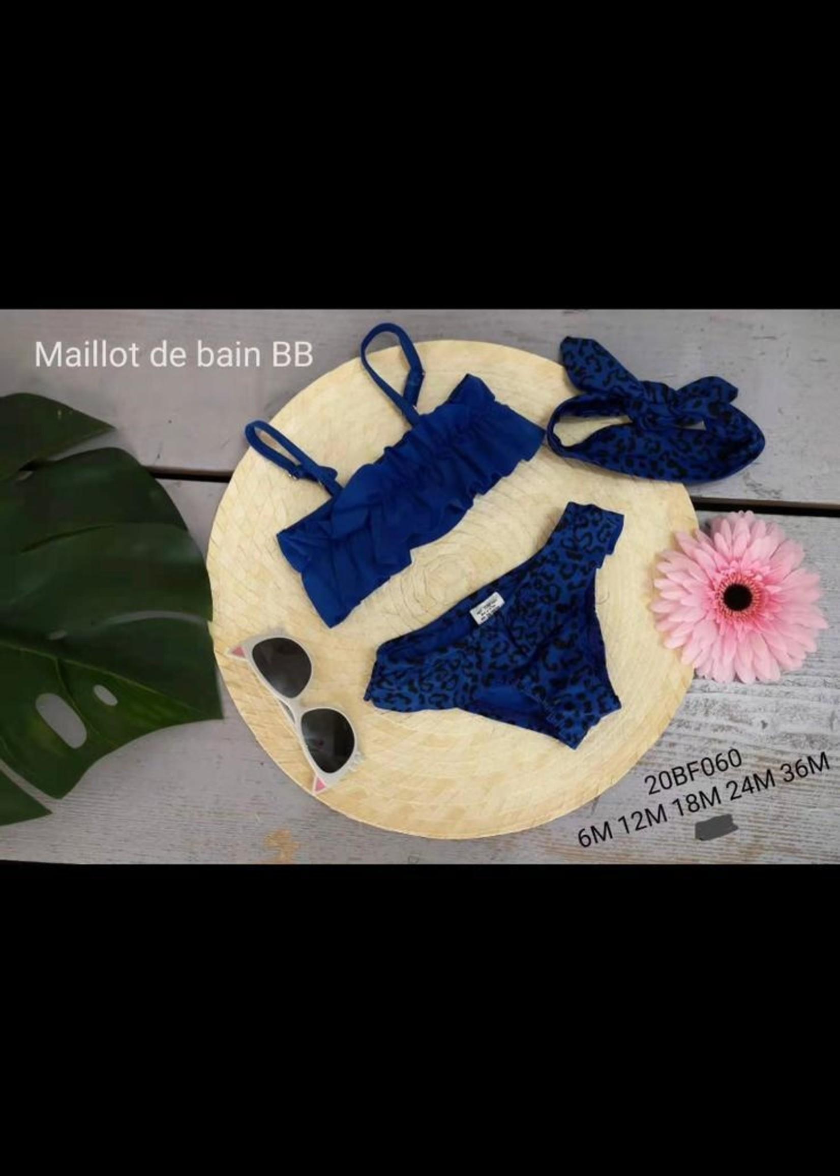 Divanis Divanis bikini set blauw