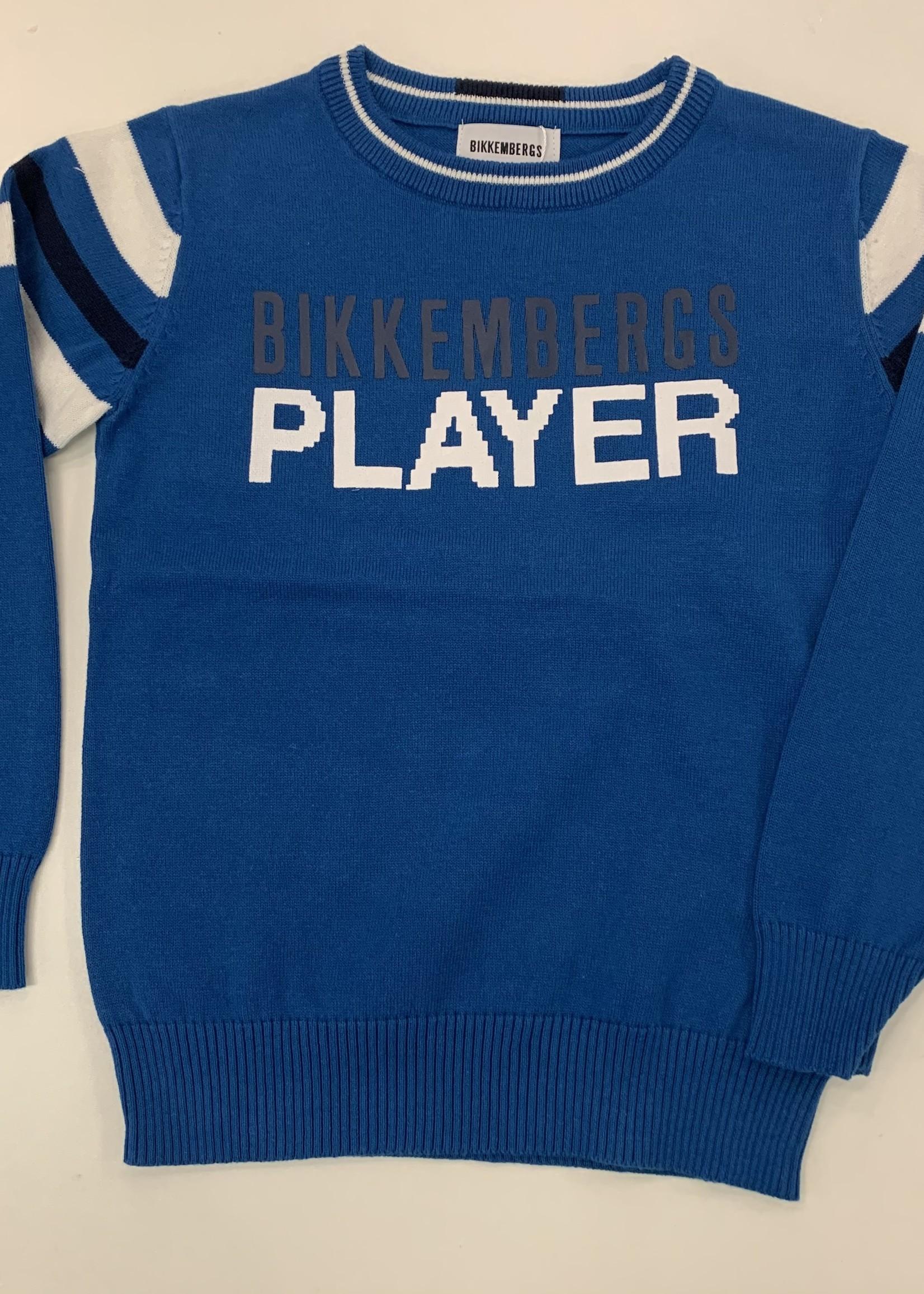 Bikkembergs Bikkembergs Sweater Princess Blue
