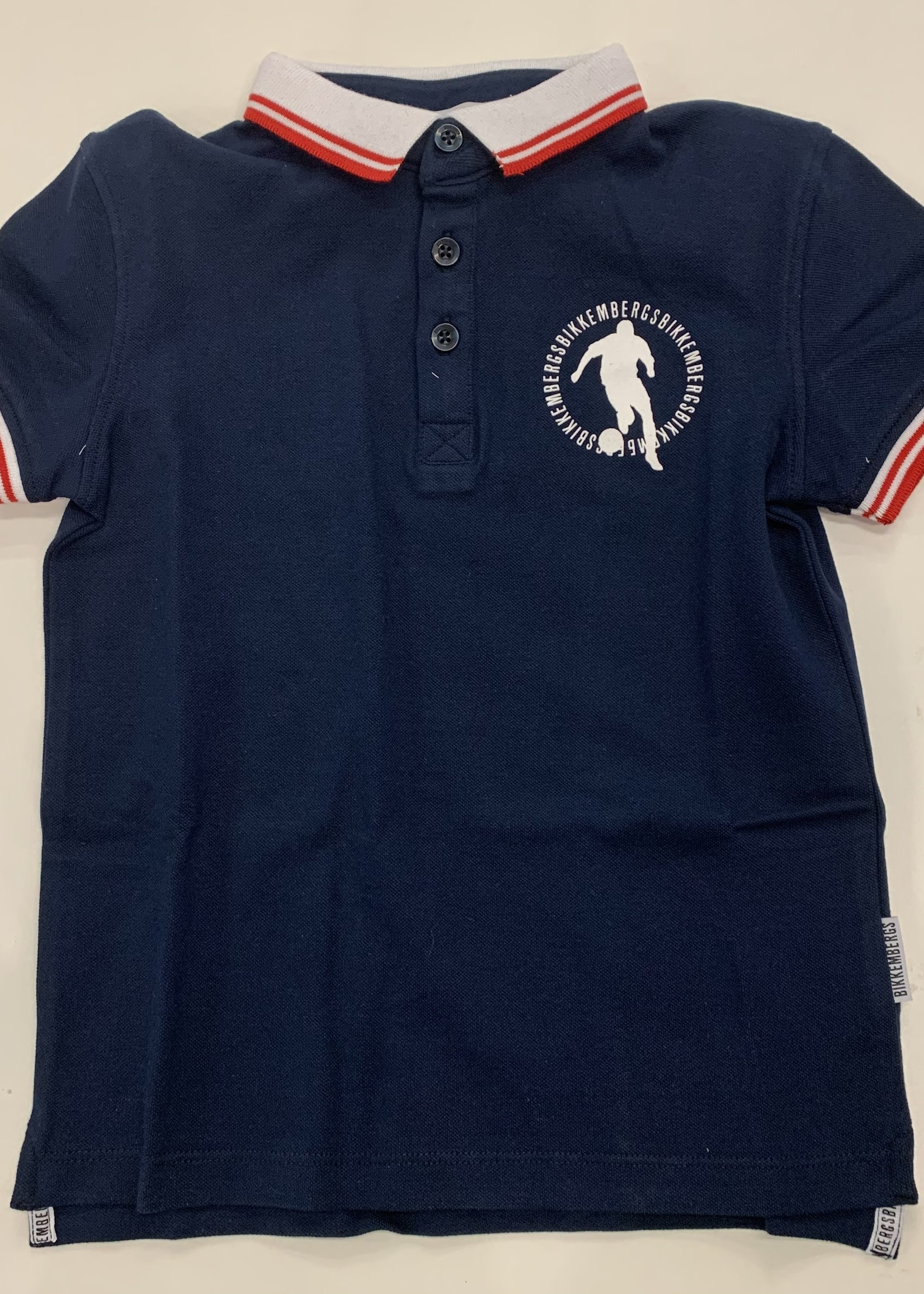 Bikkembergs Bikkembergs Polo Shirt Navy Blue