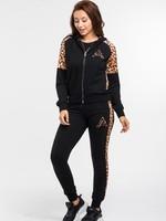 Fifth Avenue Fifth Avenue leopard joggingpak rits gold
