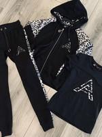 Fifth Avenue Fifth Avenue leopard joggingpak rits silver