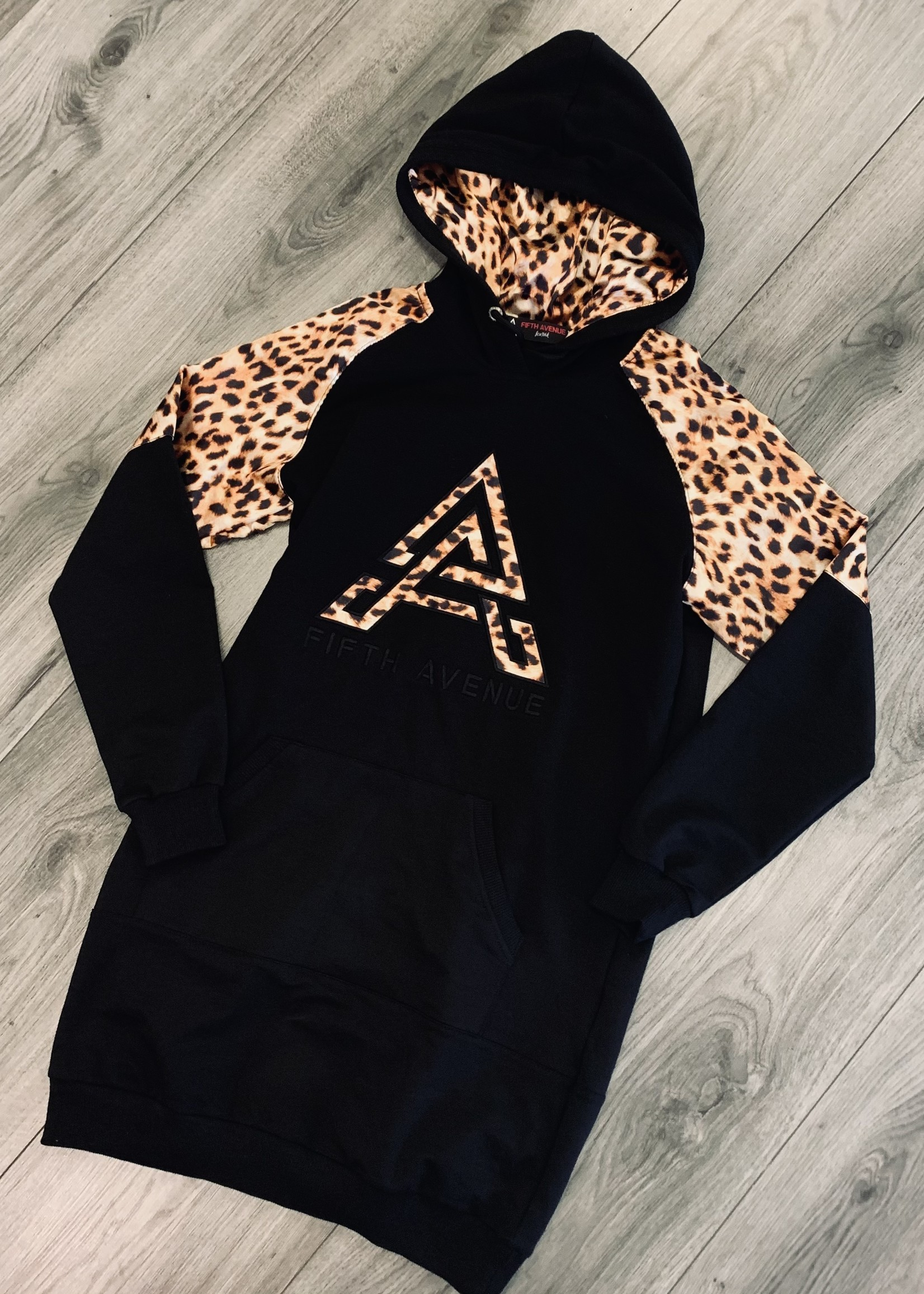 Fifth Avenue Fifth Avenue leopard dress gold