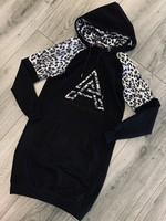 Fifth Avenue Fifth Avenue leopard dress silver