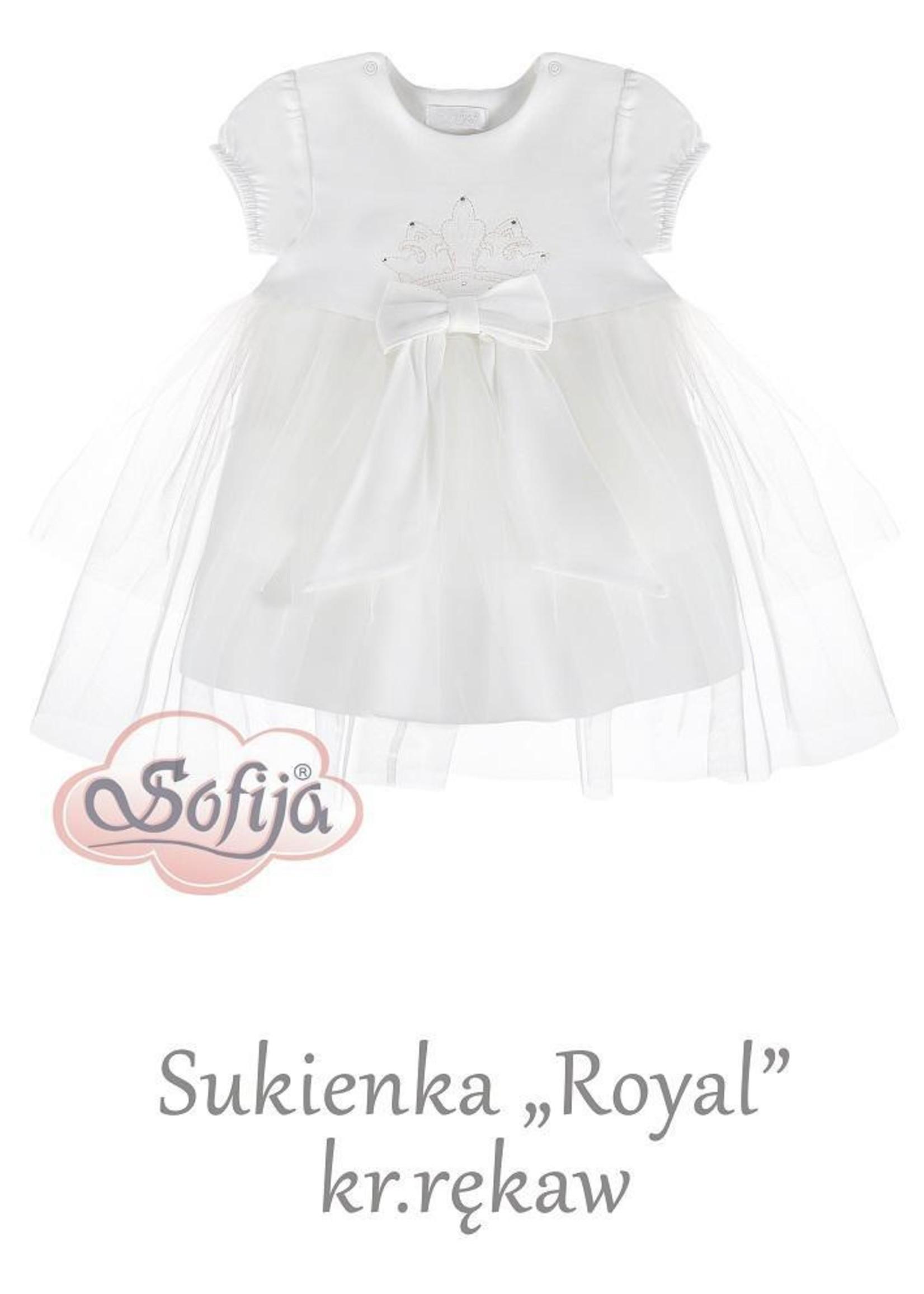 Sofija Sofija crown dress short sleeve
