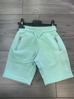 2LEGARE 2LEGARE Kids logo short mint white