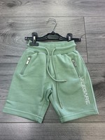 2LEGARE 2LEGARE Kids logo short Light armygreen white