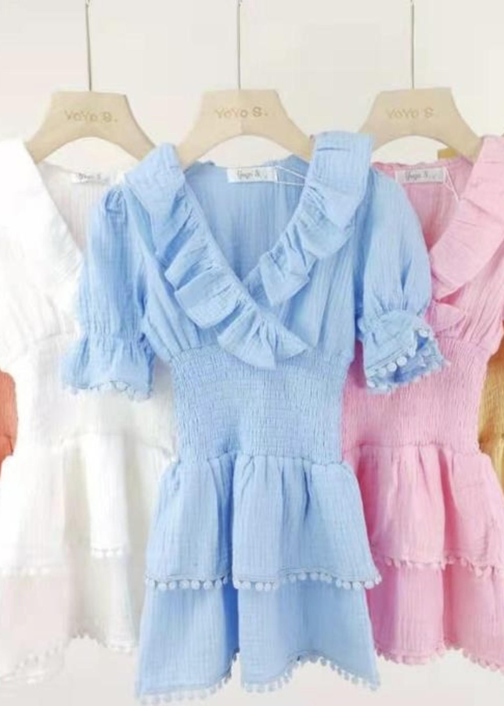 Divanis Divanis cute dress blauw