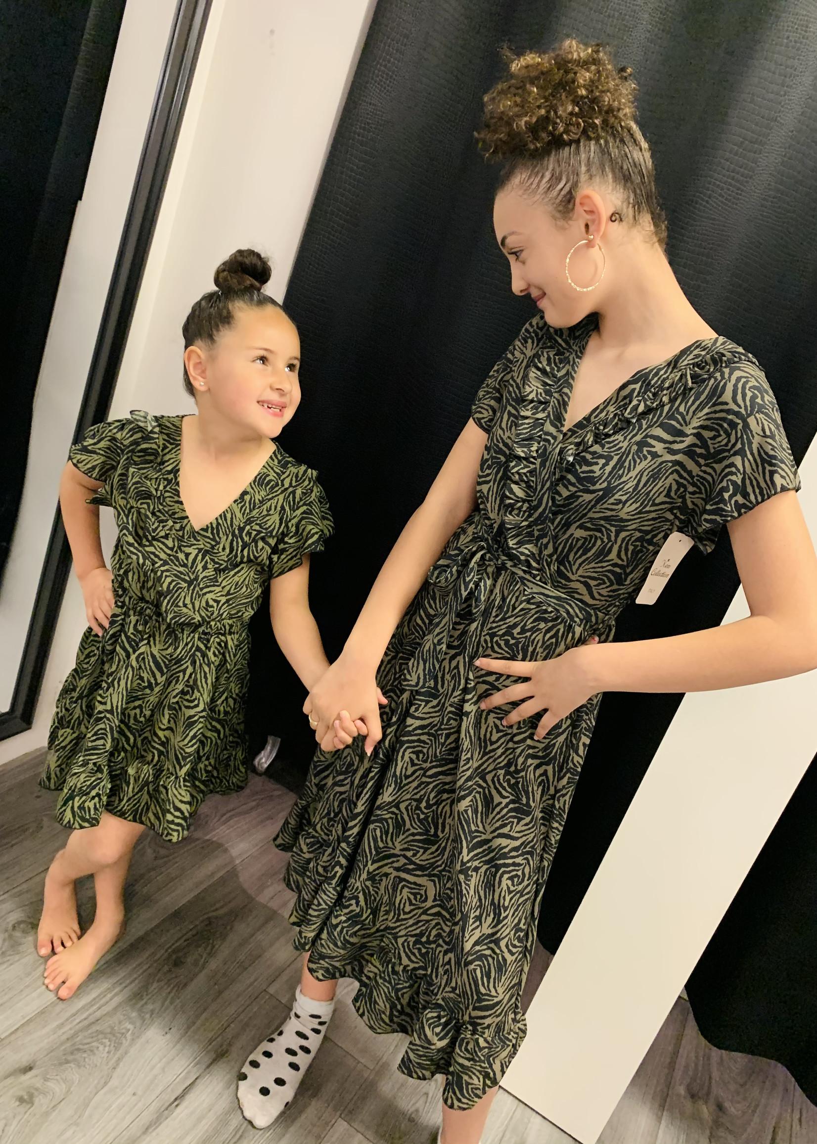 Zero Zero dochter dress army