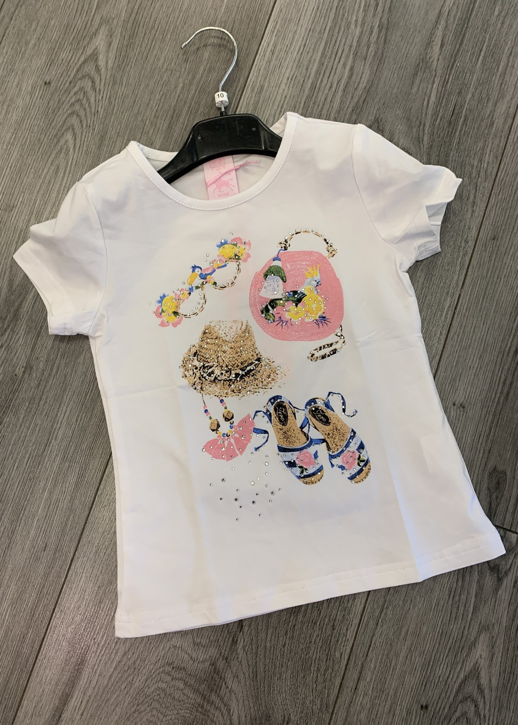 Divanis Divanis accessoires shirt wit