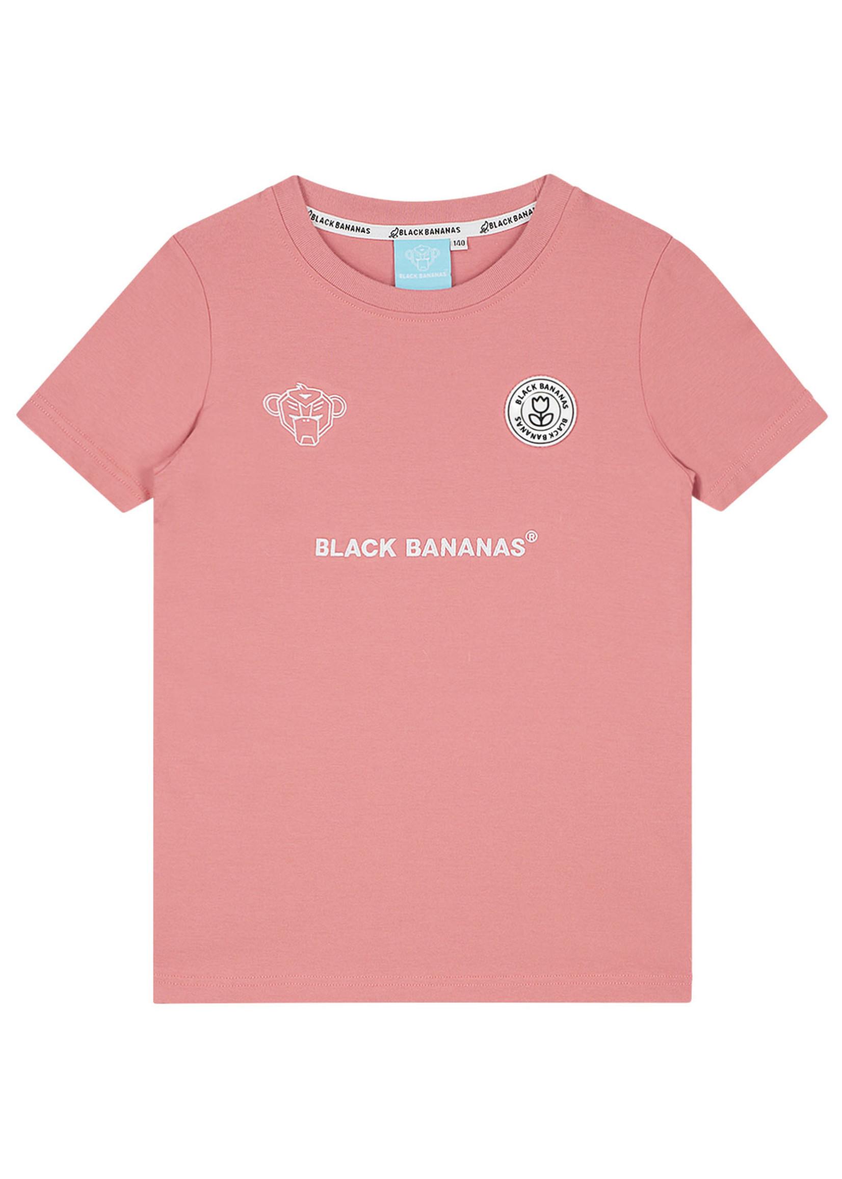 Black Bananas BlackBananas Jr. F.C. Basic Tee pink