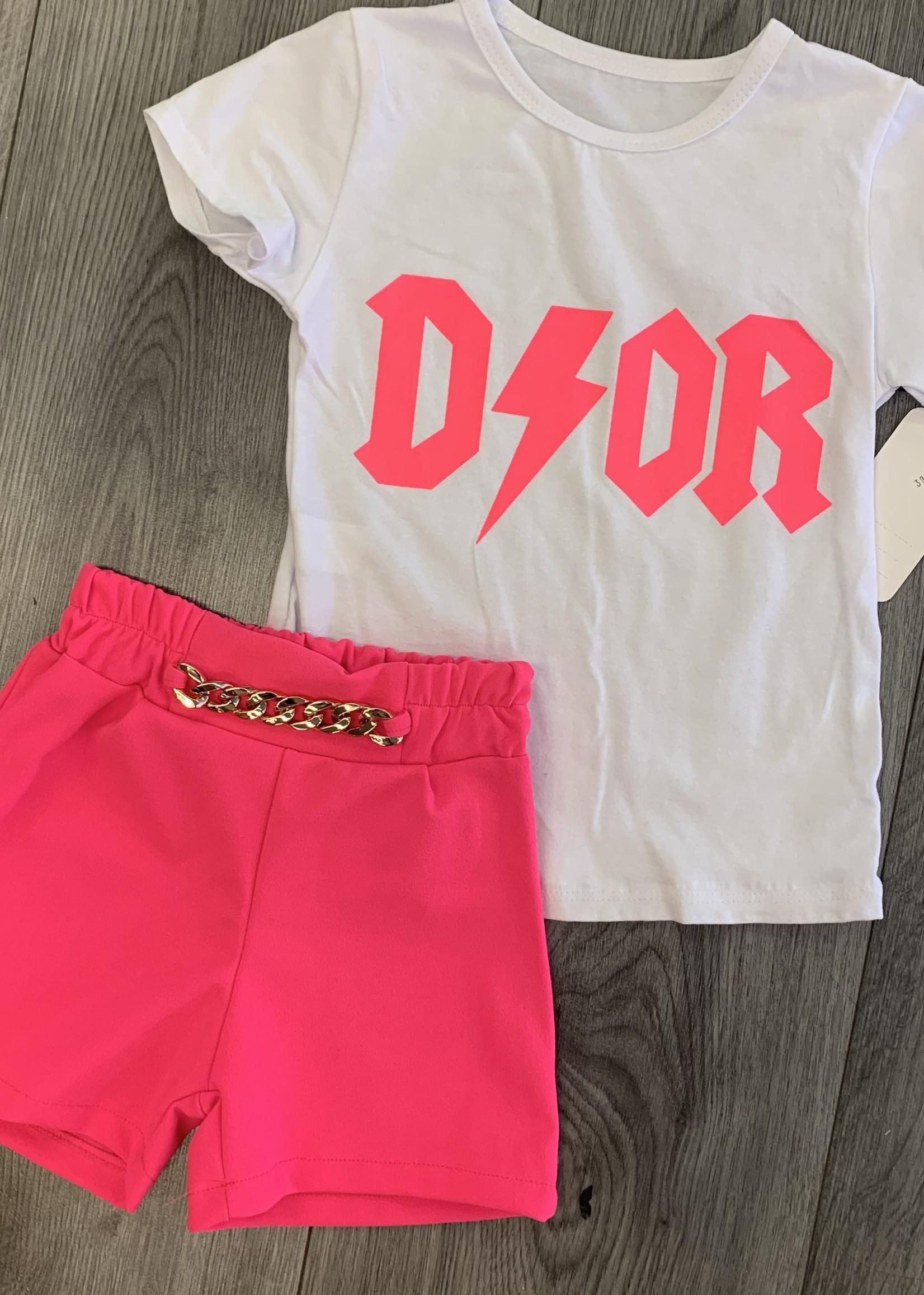 Divanis Divanis Dior set pink