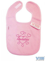 Very Important Baby Slabbetje Allerliefste met hartjes