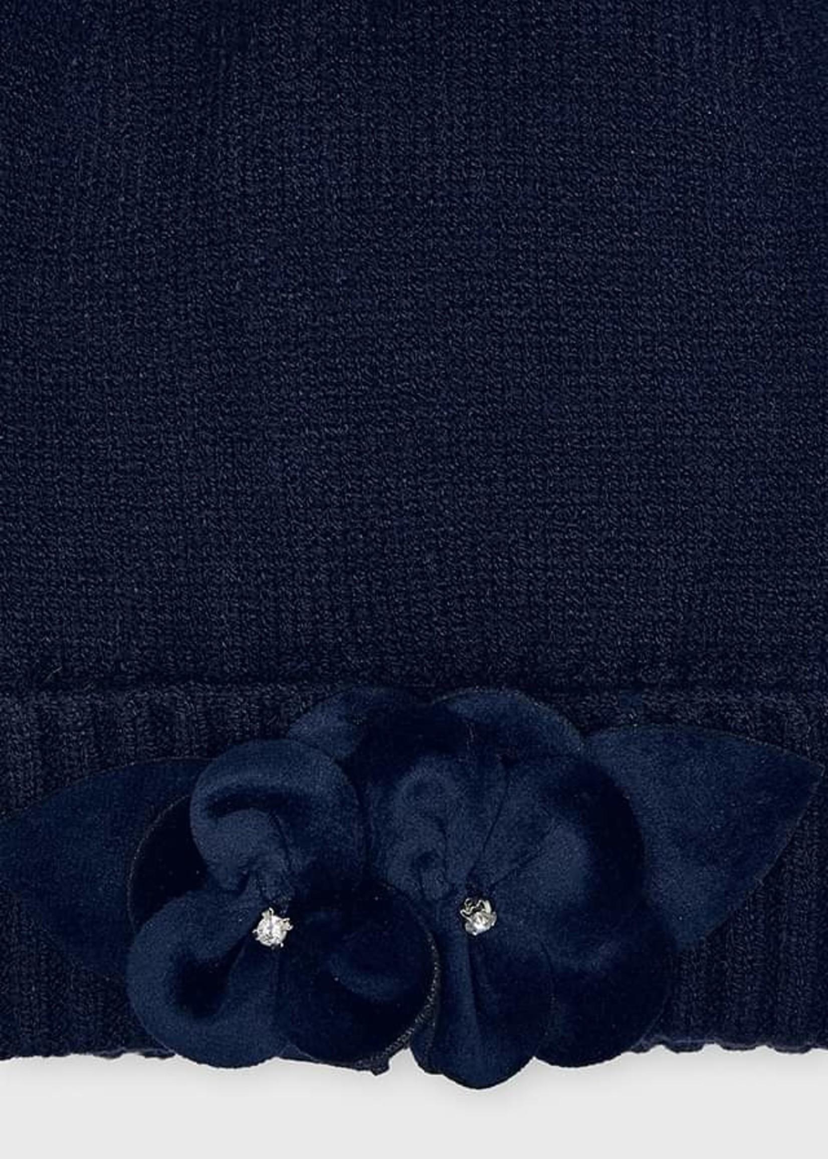 Mayoral Mayoral hat and scarf set navy(pre-order)
