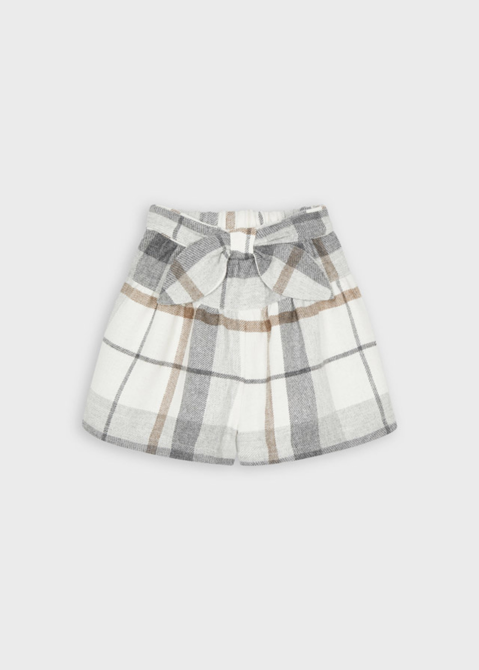 Mayoral Mayoral plaid skirt/pant