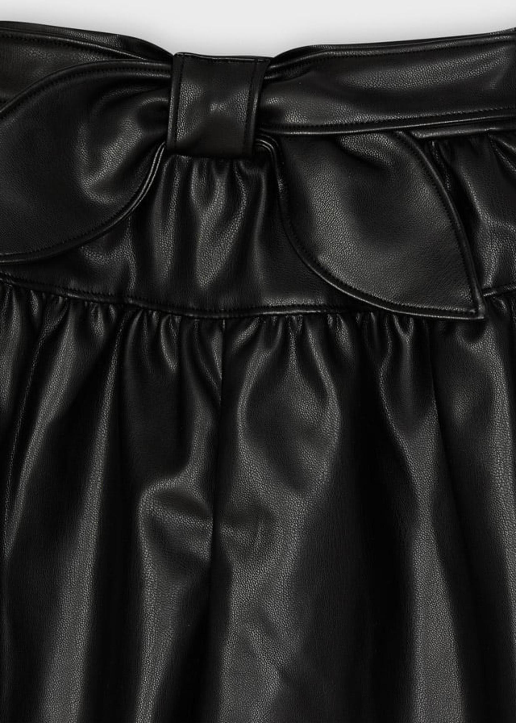 Mayoral Mayoral leather skort