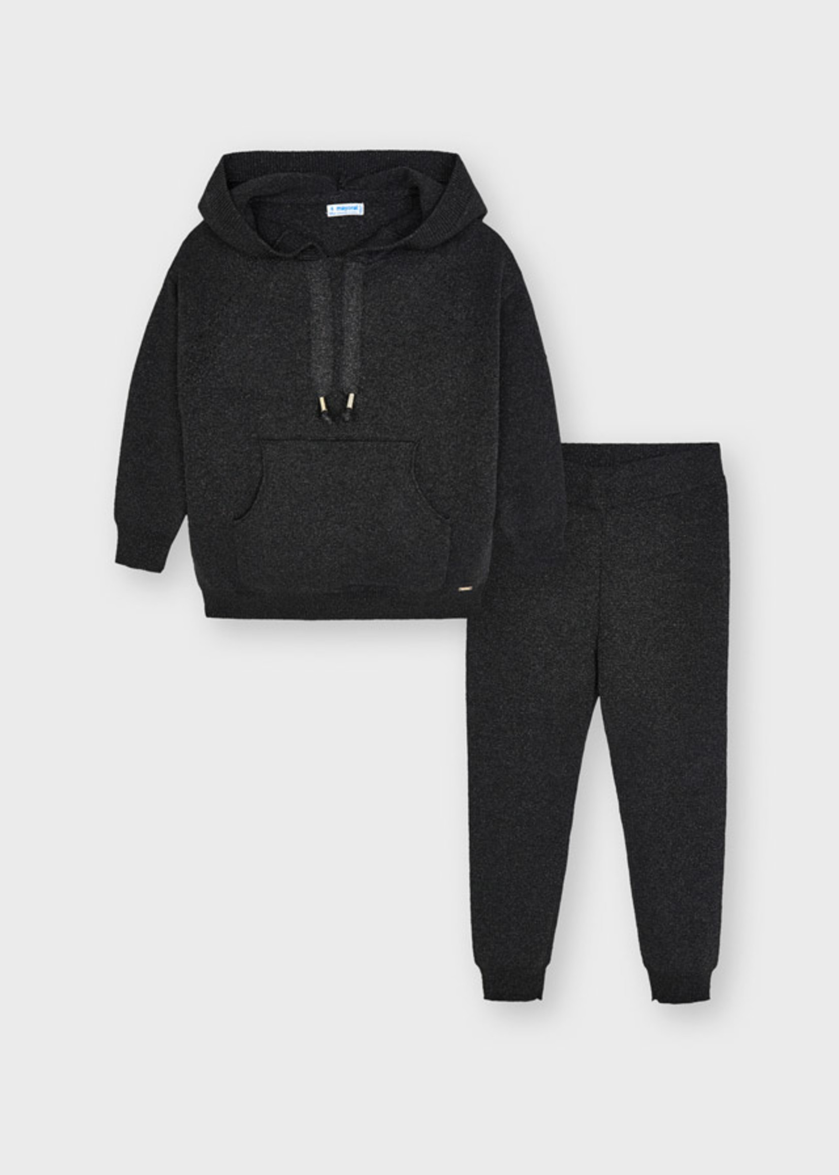Mayoral Mayoral knit tracksuit for girl bright lea