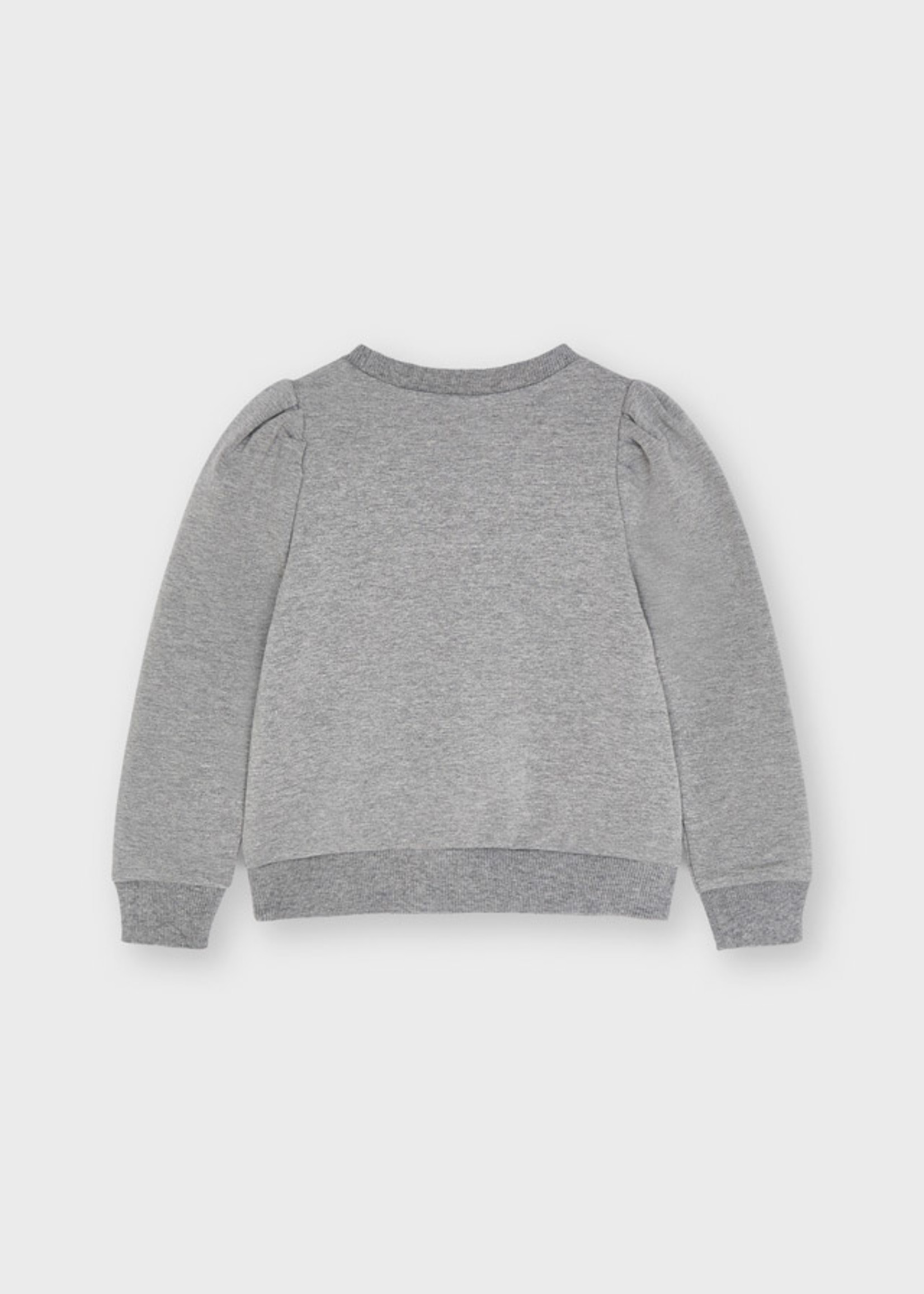 Mayoral Mayoral sequin ciao pullover steel