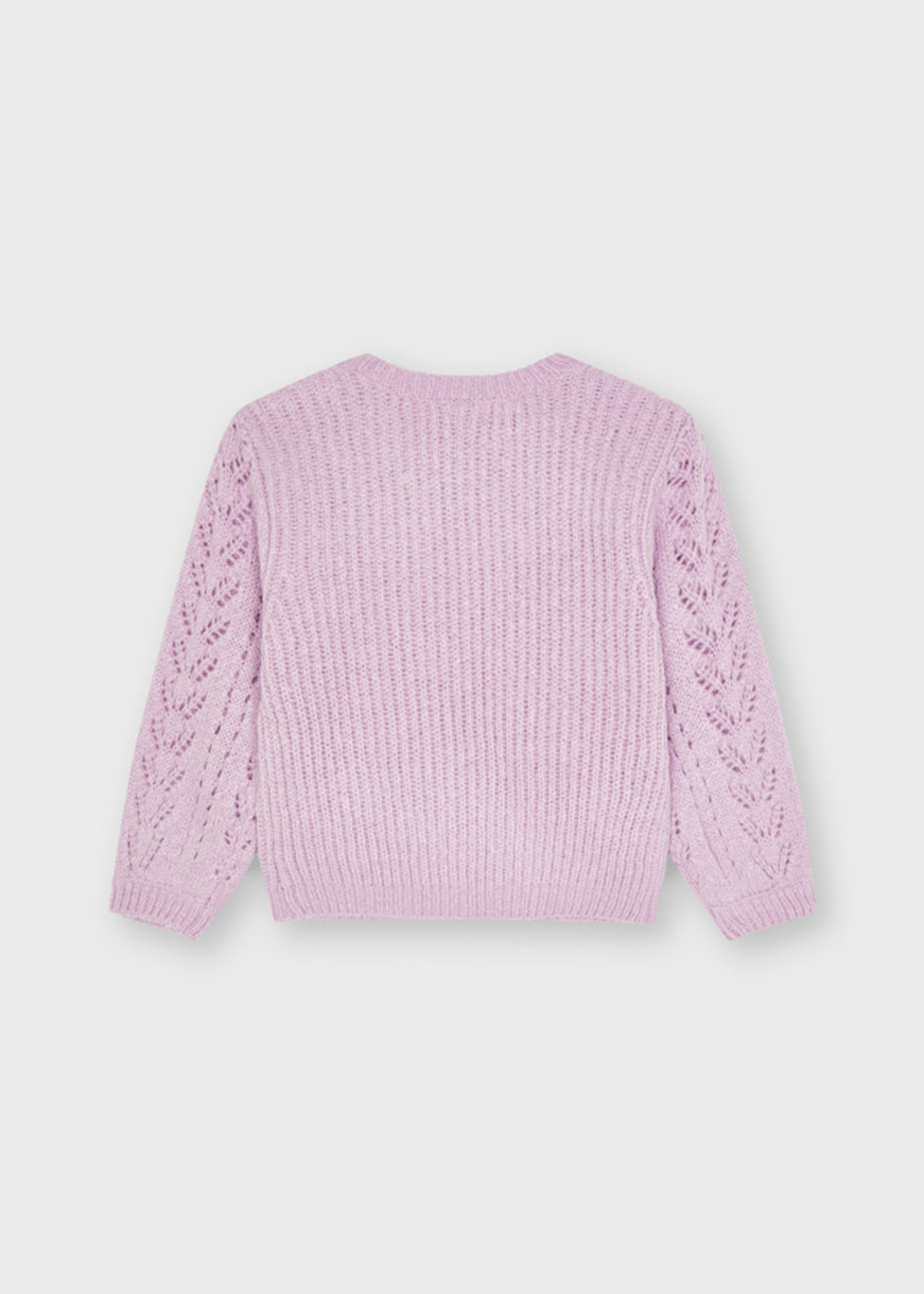 Mayoral Mayoral sweater with turban lilac