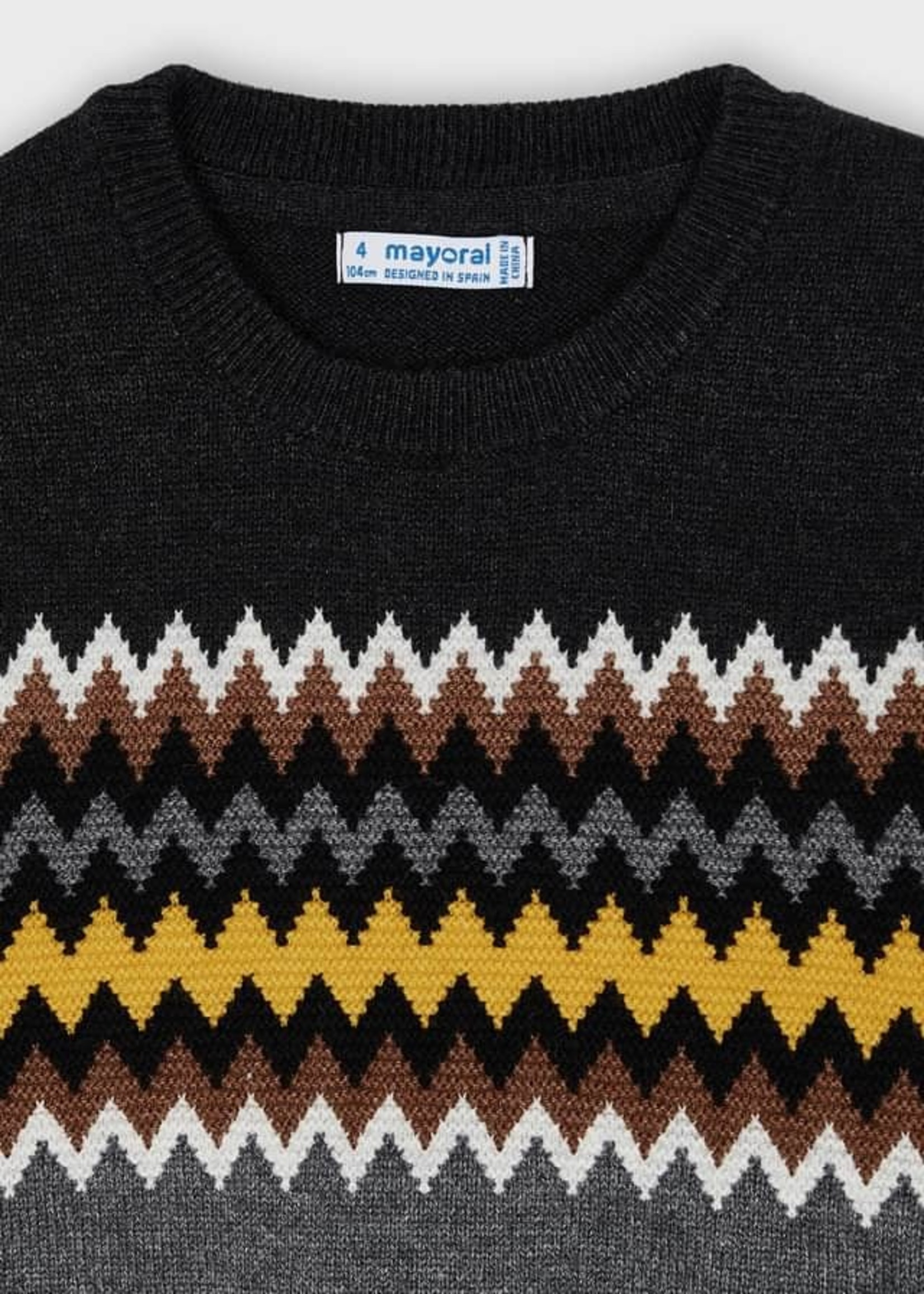Mayoral Mayoral jacquard sweater