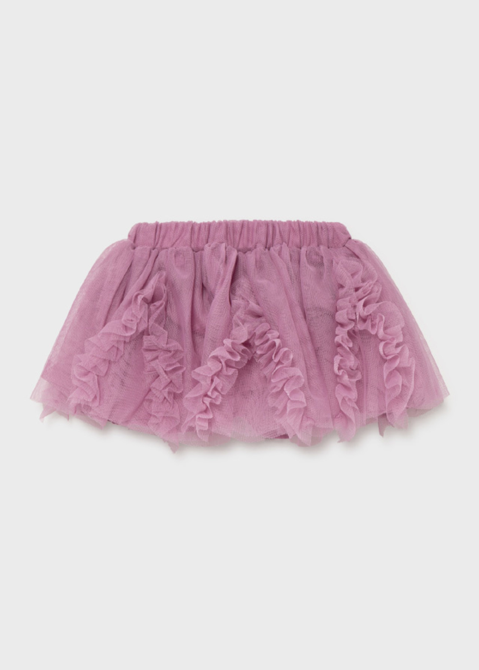 Mayoral Mayoral tulle skirt mauve