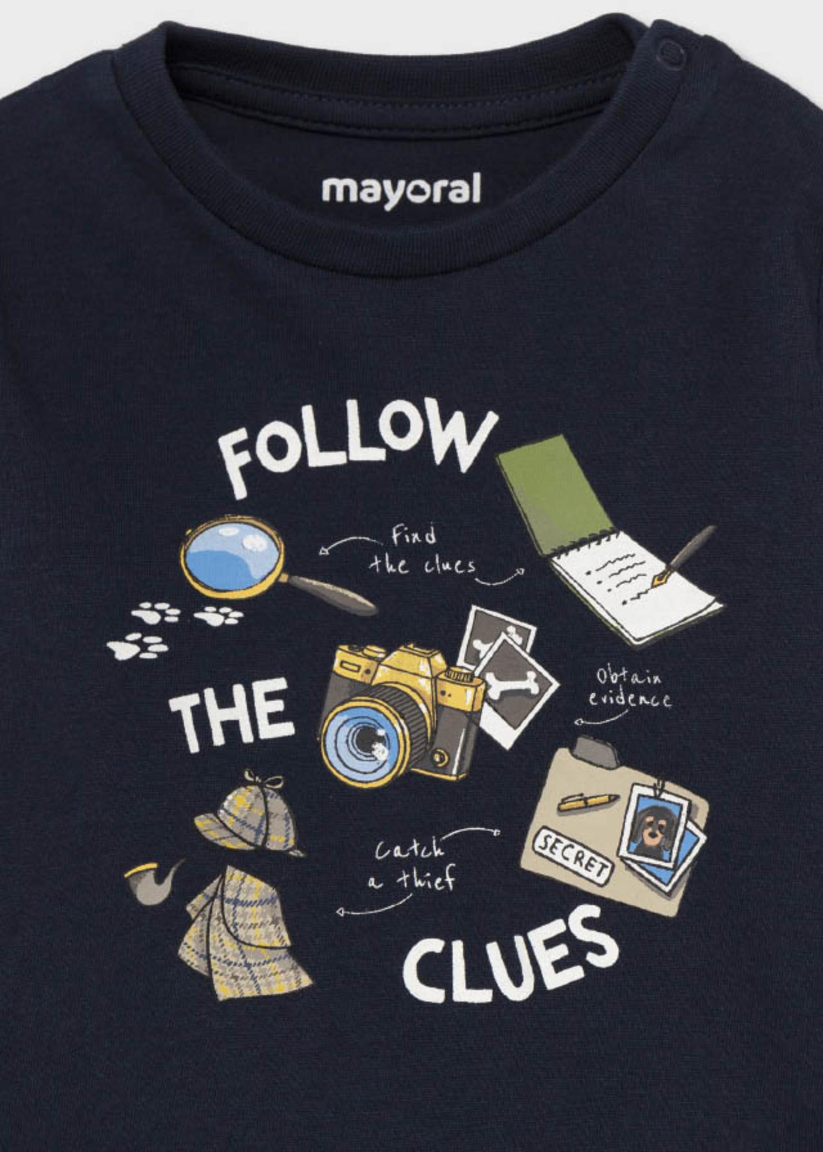 Mayoral Mayoral little spy shirt set