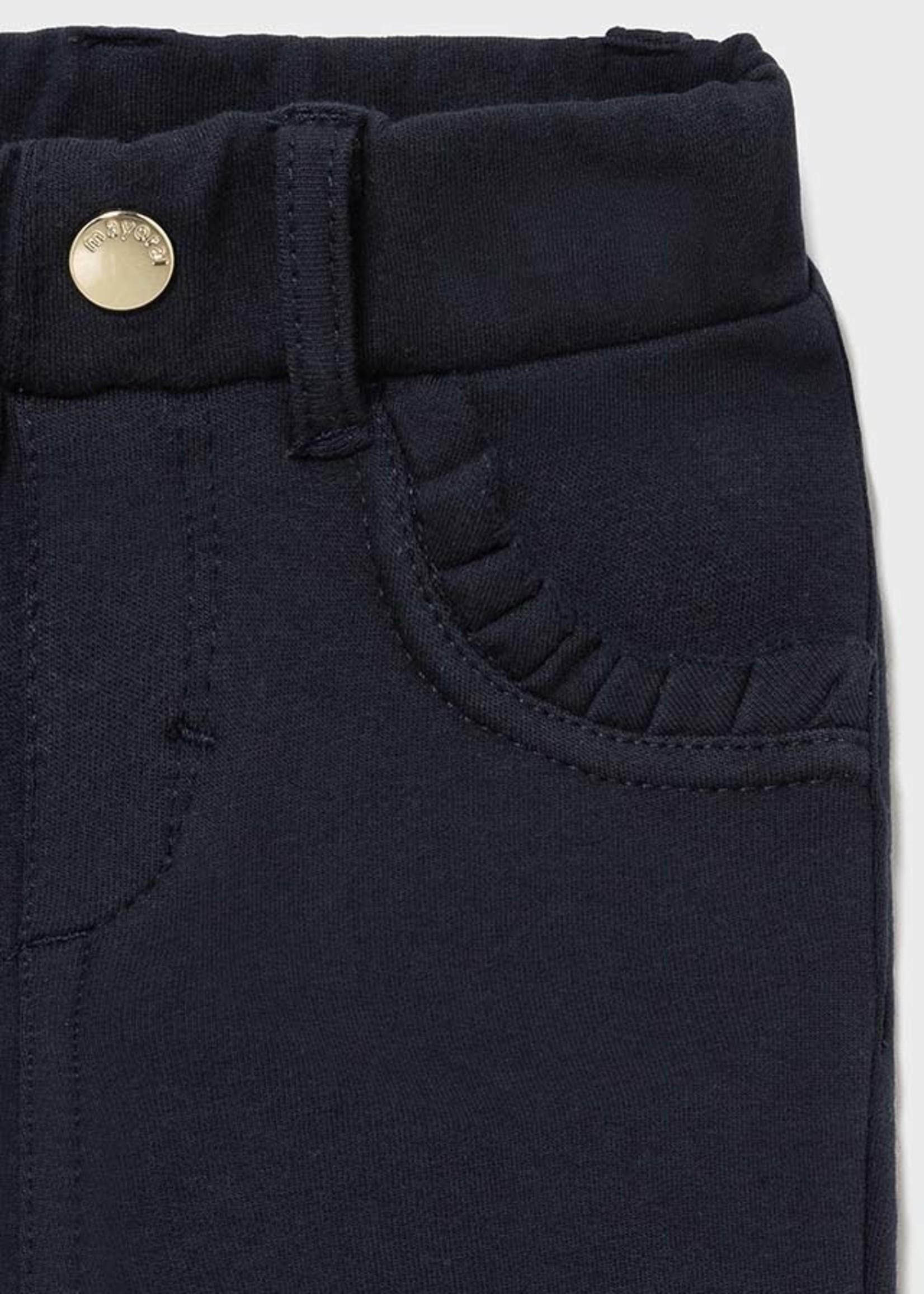 Mayoral Mayoral fleece basic trousers navy