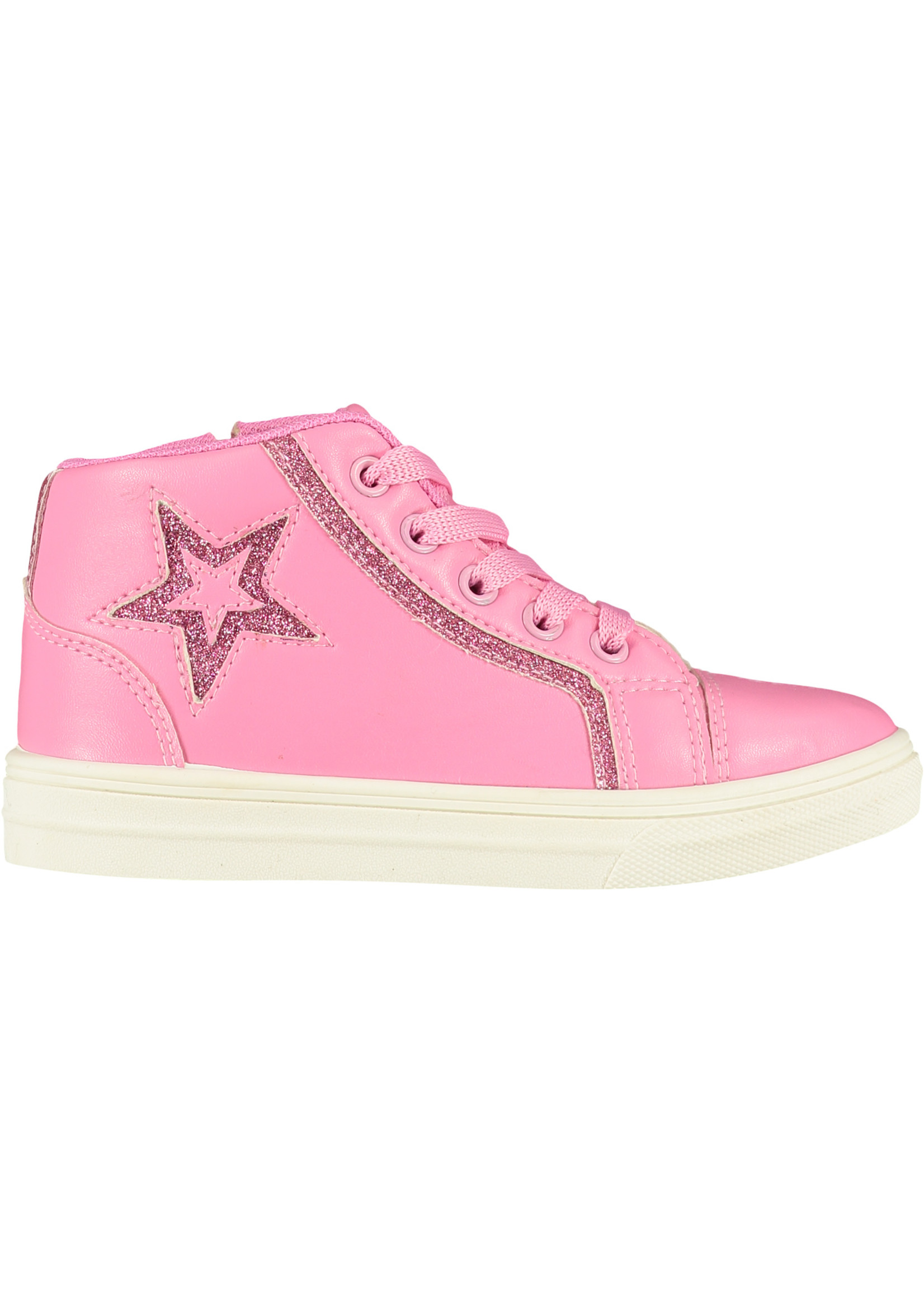A Dee A Dee STAR Star high top trainer Pink Candy