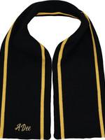 A Dee A Dee TIA Stripe knitted scarf