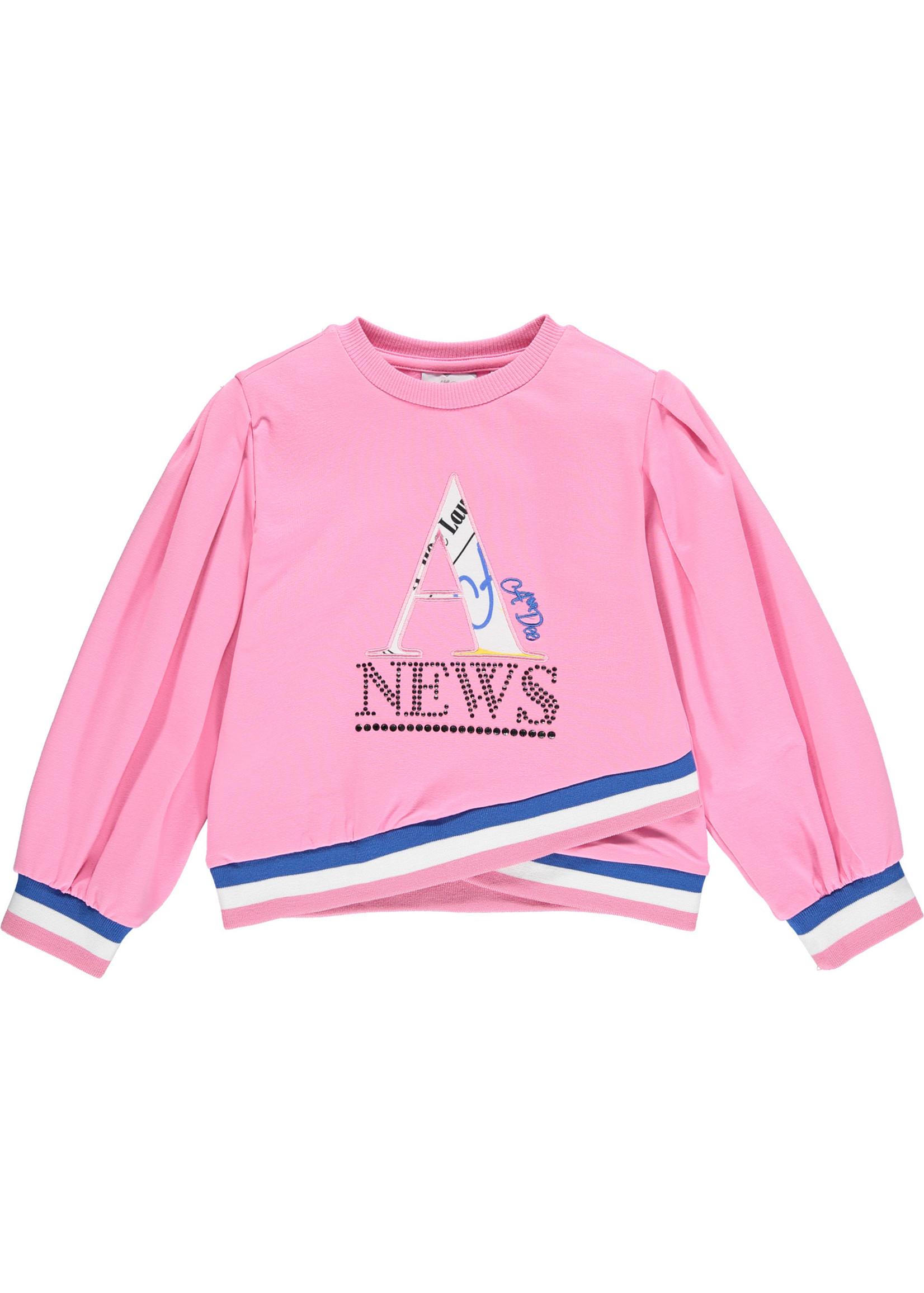 A Dee A Dee SIENNA Puff sleeve A News tracksuit