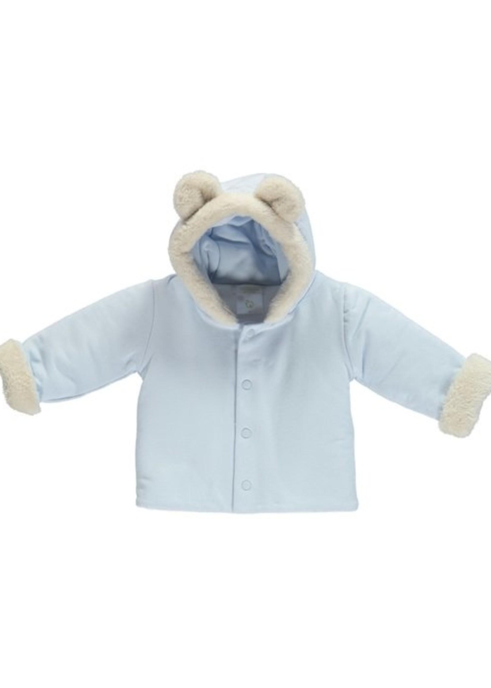 deolinda deolinda wadded jacket blue
