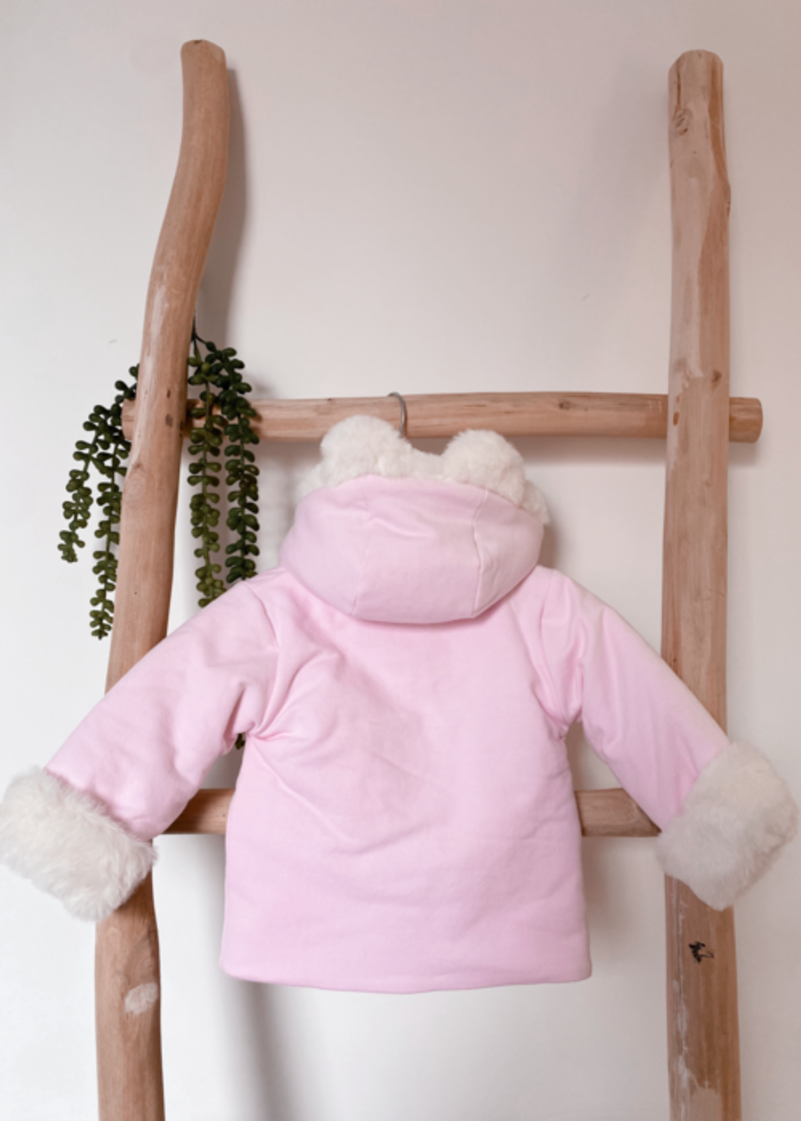 deolinda deolinda wadded jacket pink