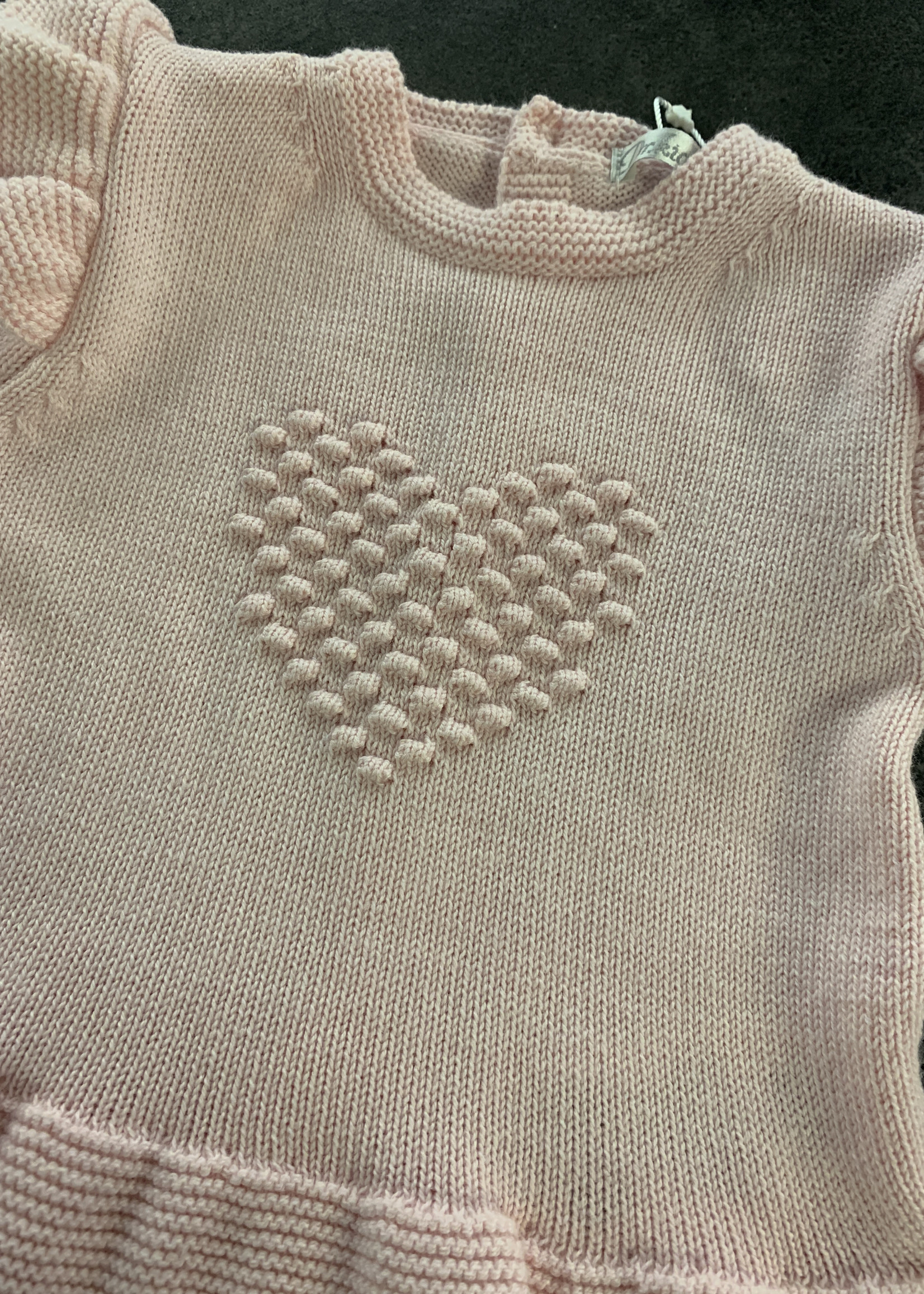 DrKid DrKid dress newborn heart roze