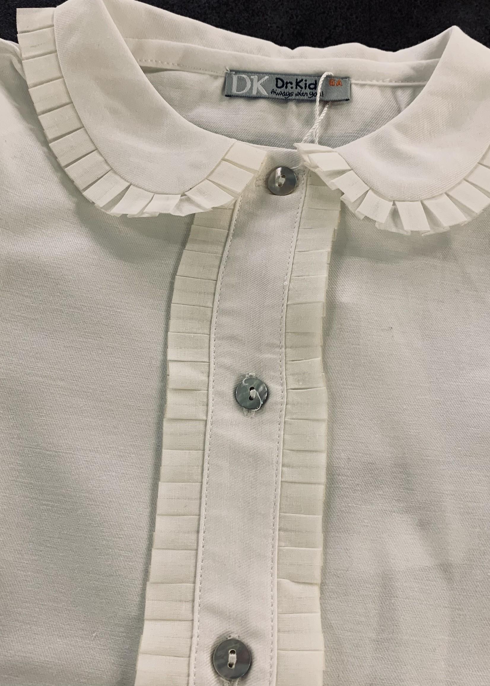 DrKid DrKid girls blouse ecru