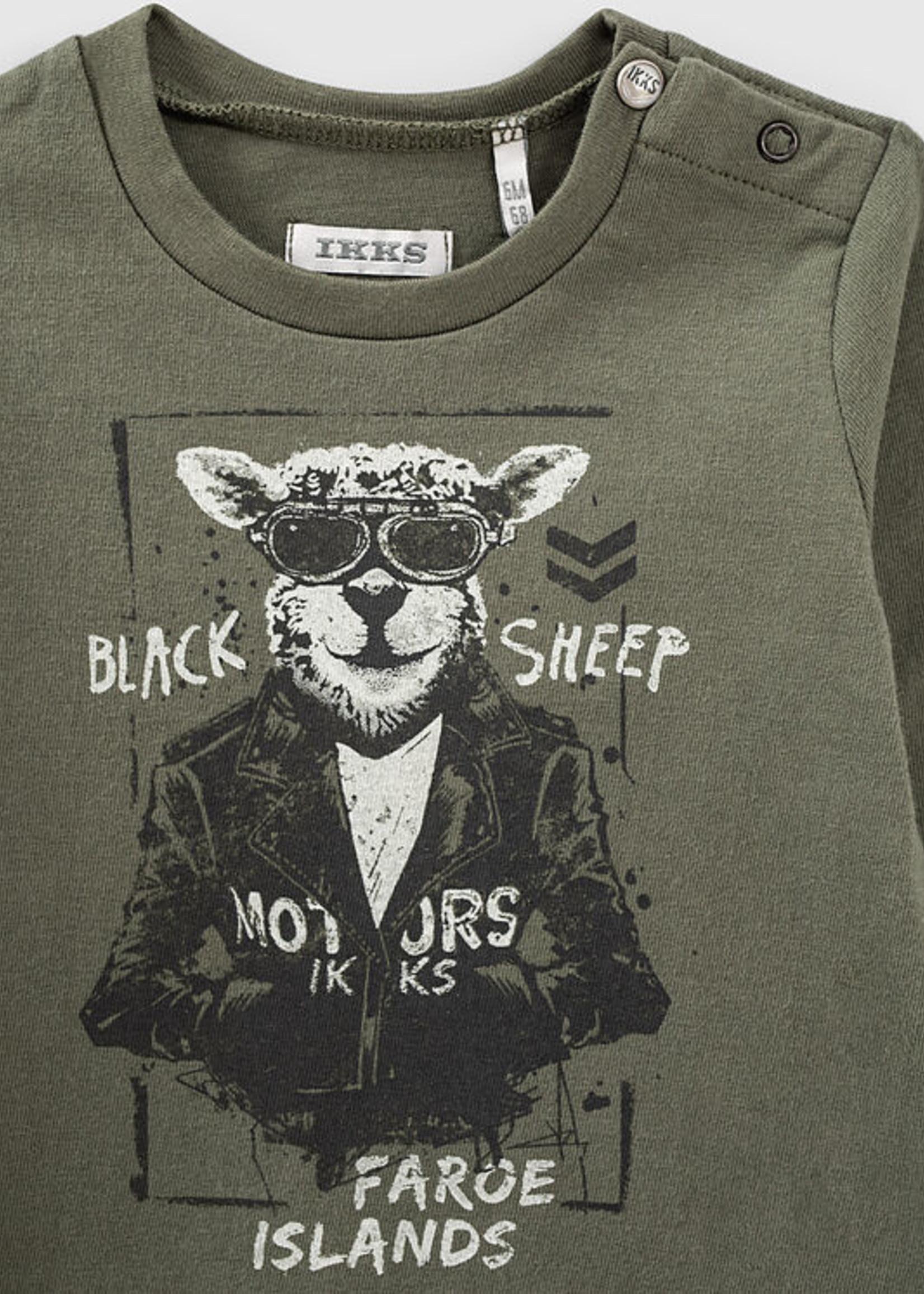 IKKS IKKS black sheep shirt