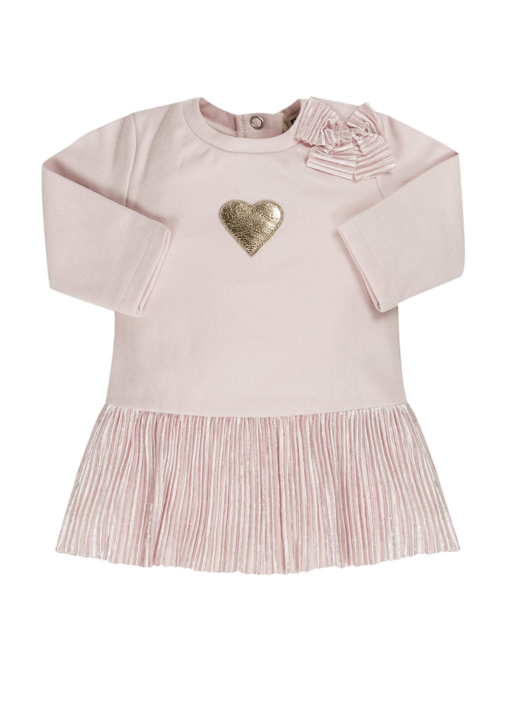 EMC EMC pink dress heart velour
