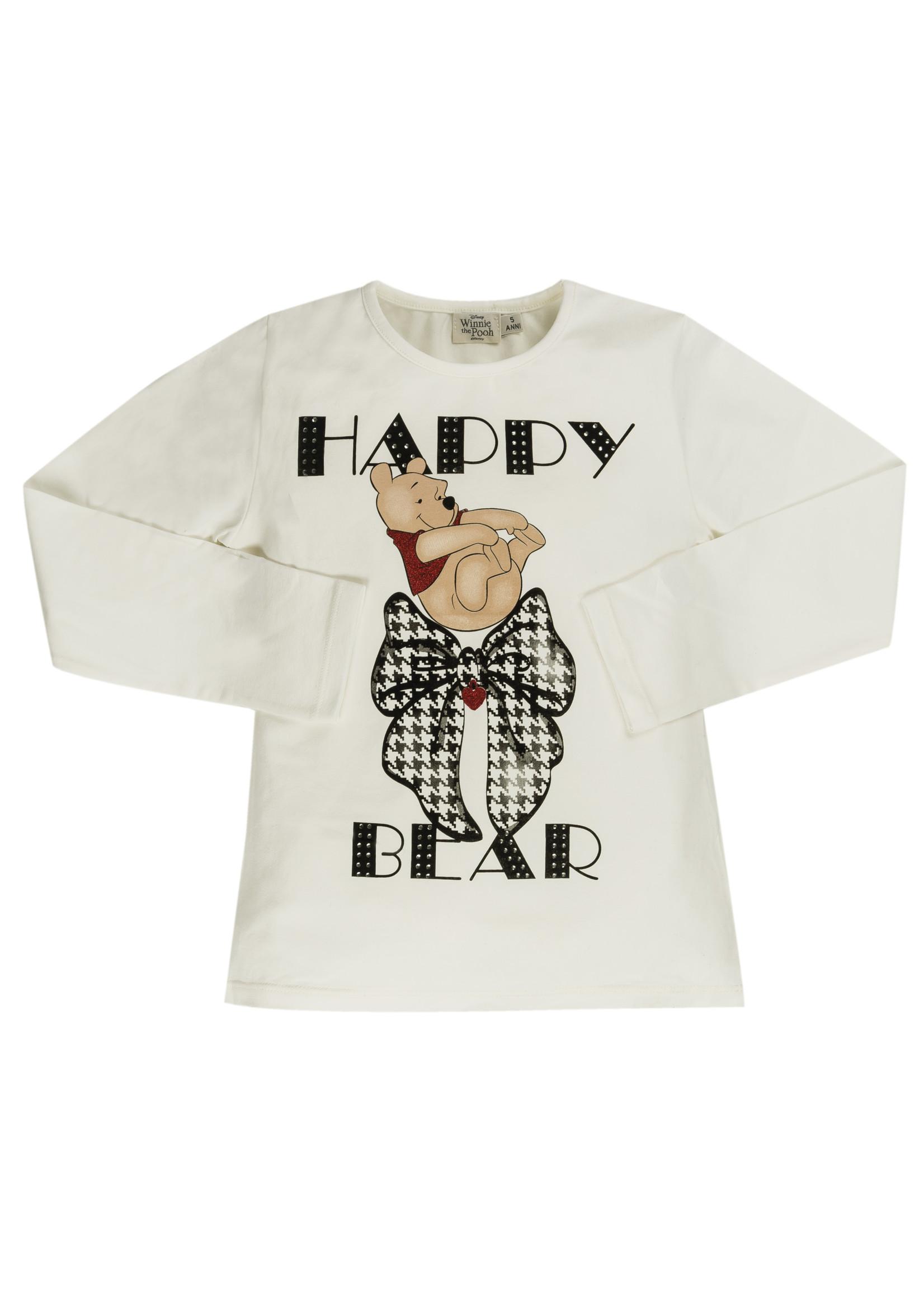 EMC EMC happy bear shirt white