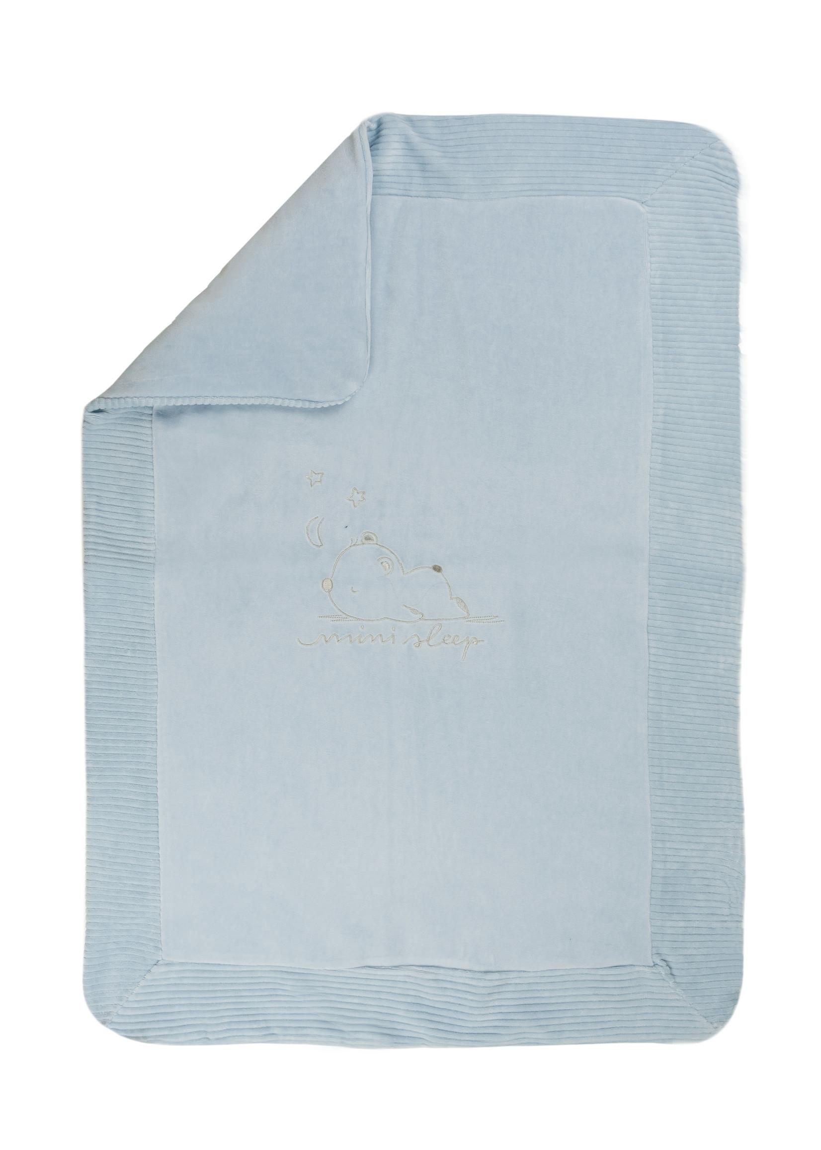 EMC EMC mini sleep blanket blue