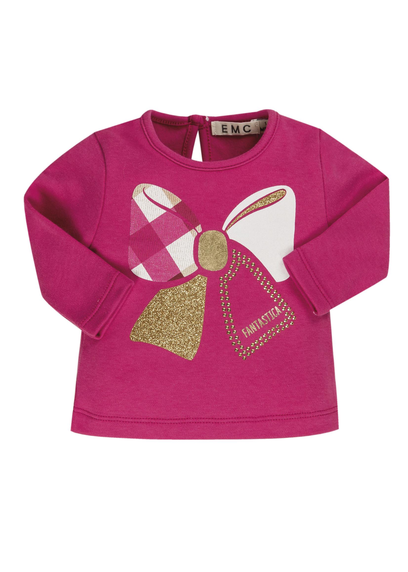 EMC EMC tshirt bow pink