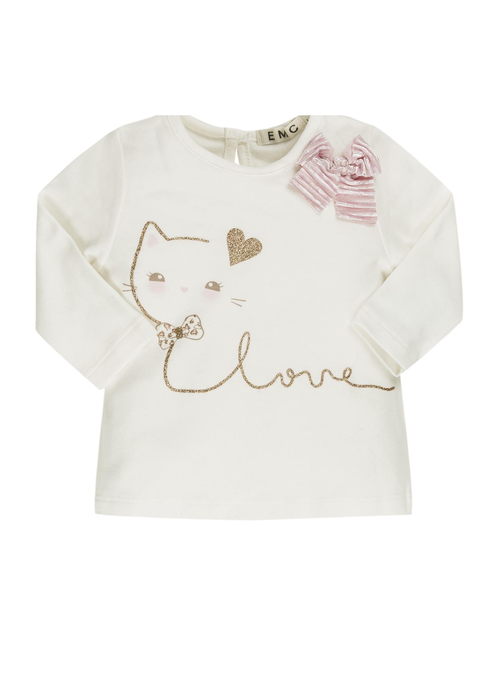 EMC EMC love cat tshirt