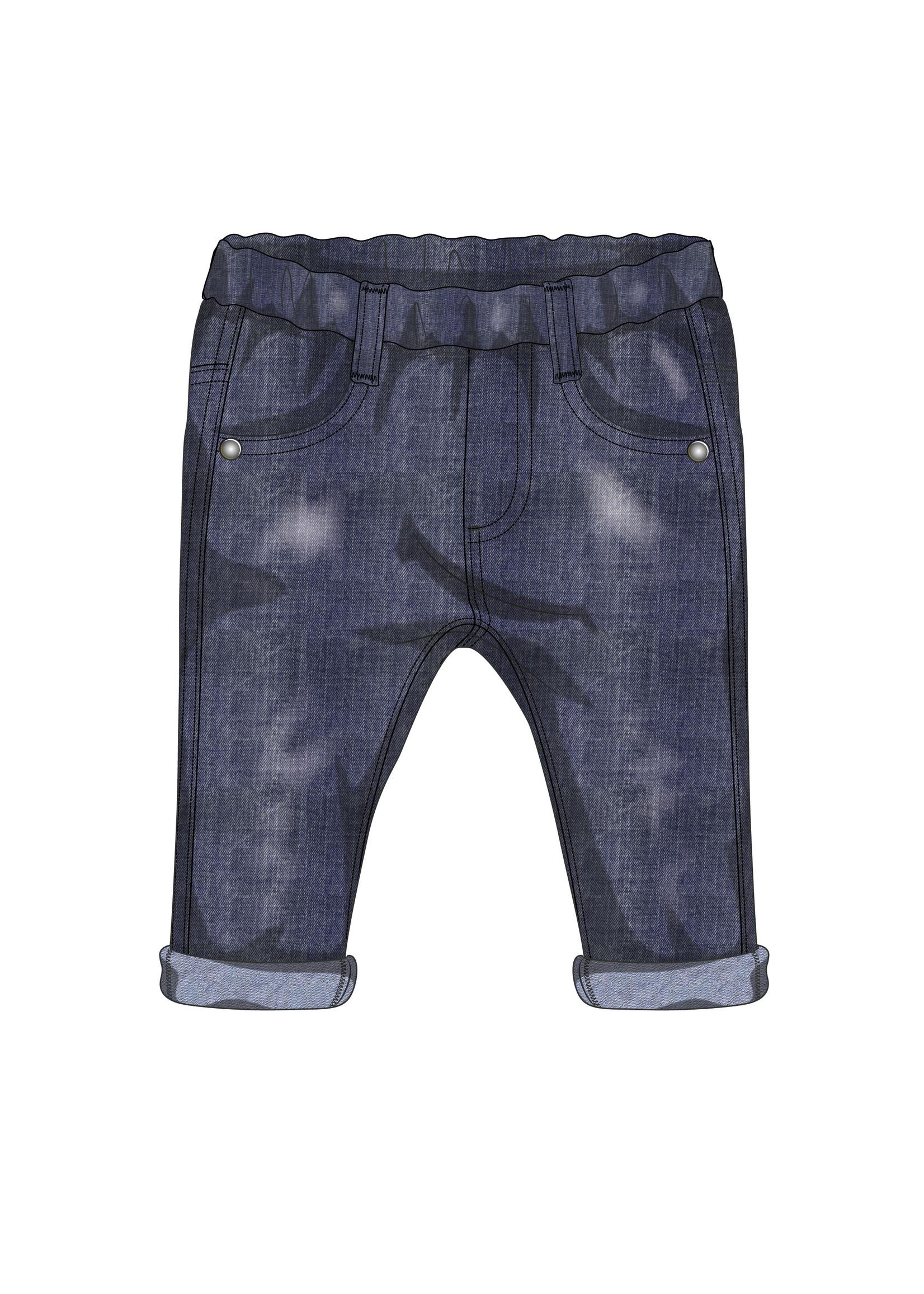 EMC EMC fleece trousers blue
