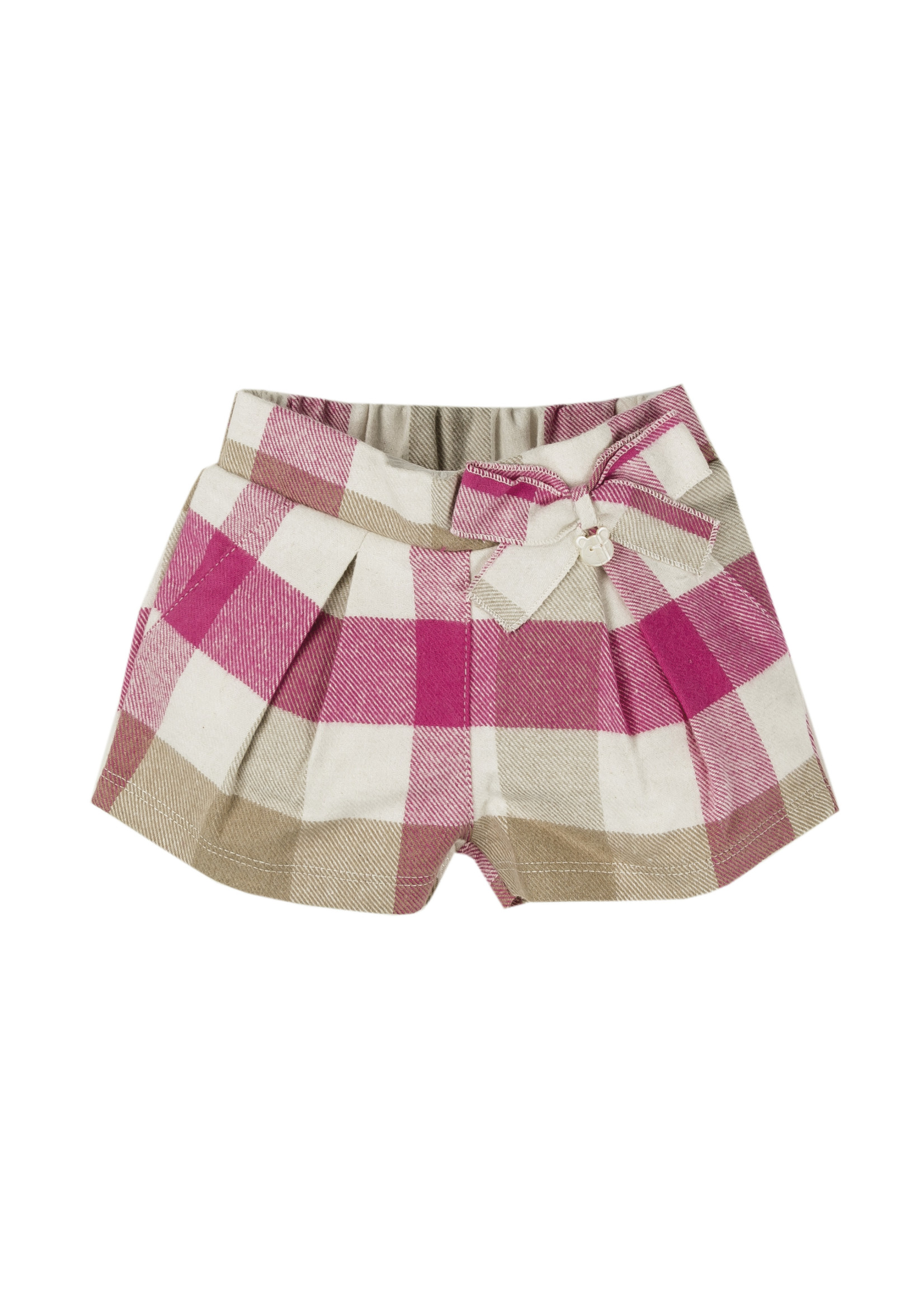EMC EMC geruite shorts roze